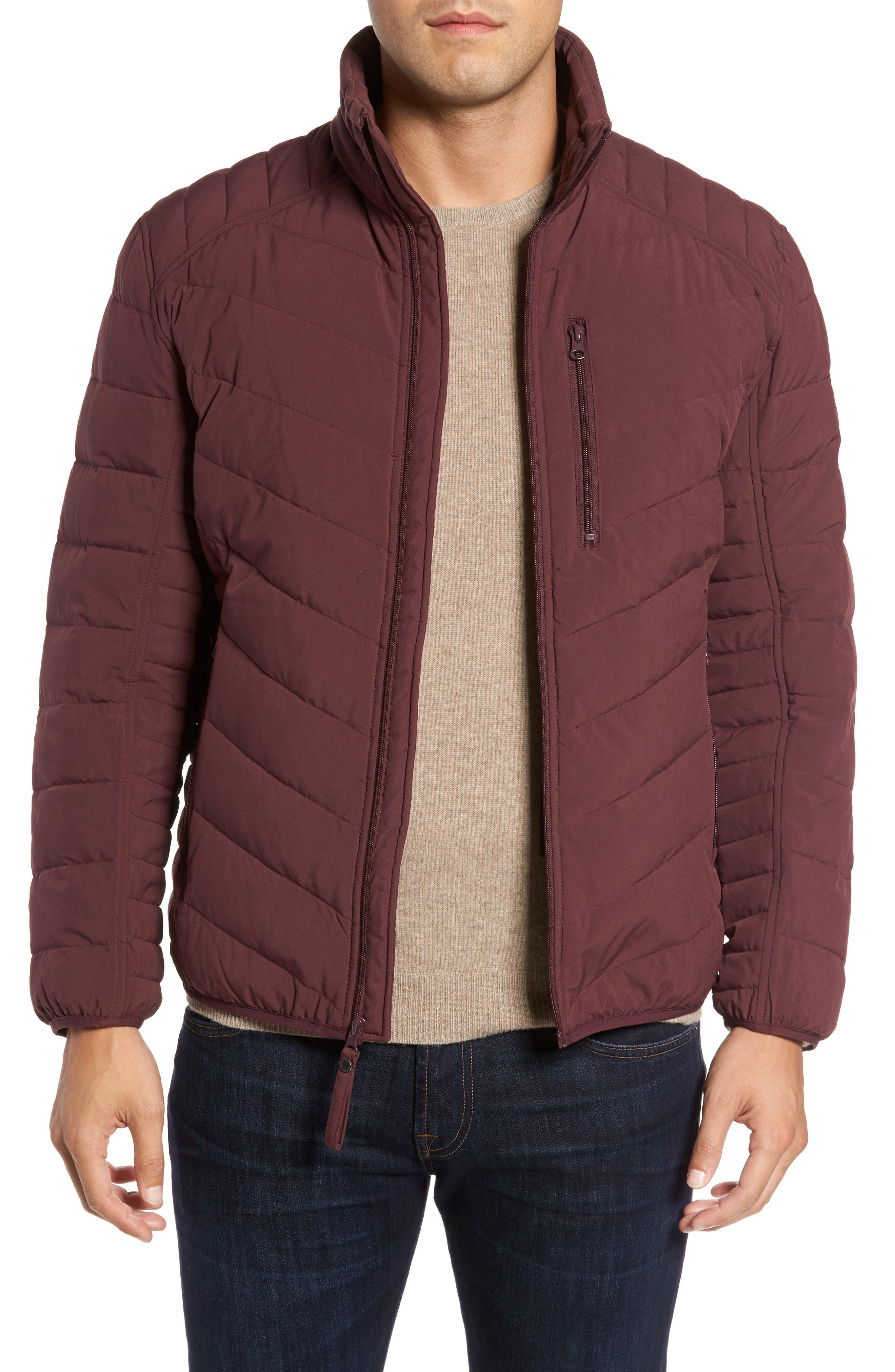 Main Image - Marc New York Stretch Packable Down Jacket