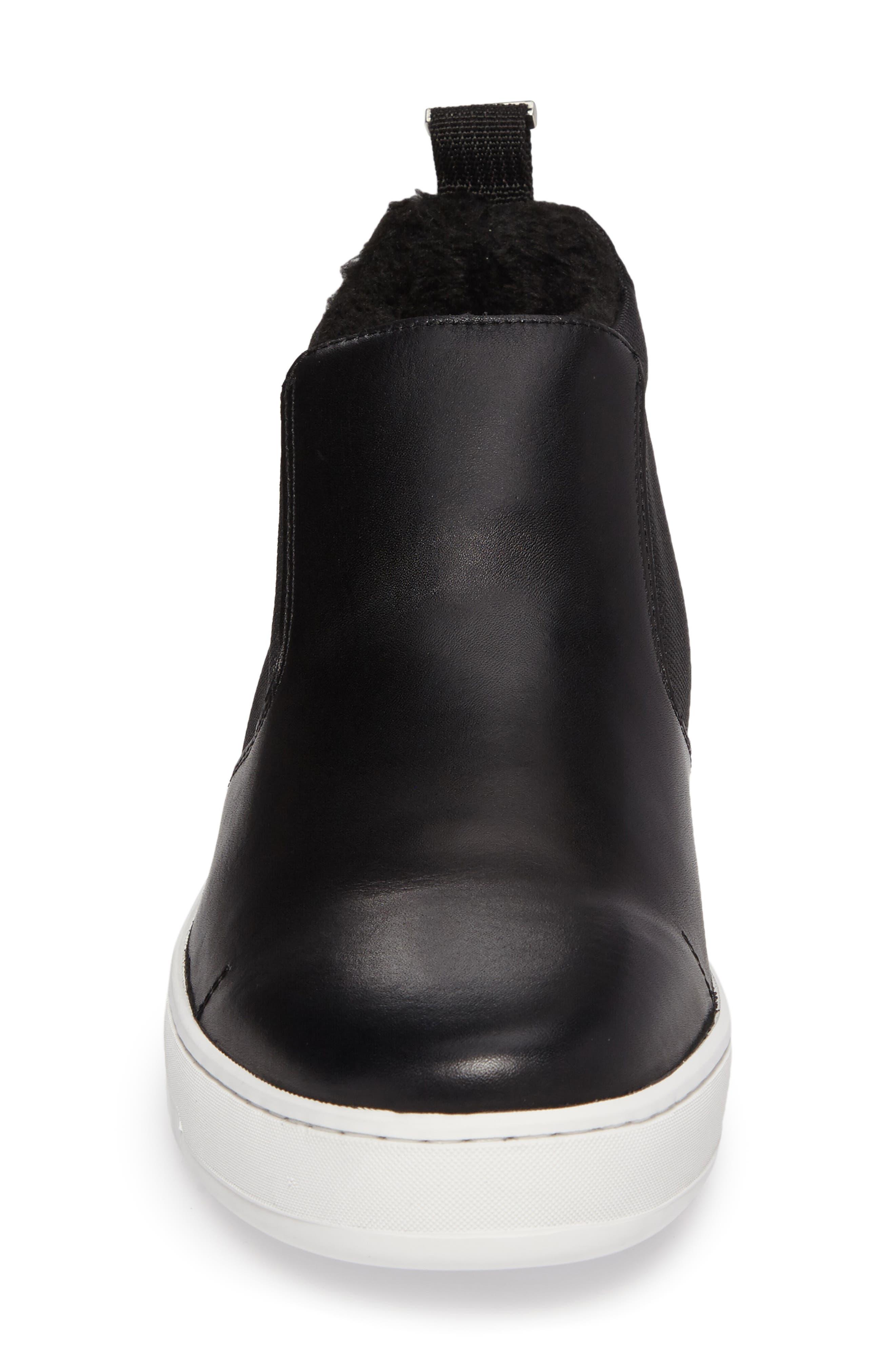 Noble Slip-On,                             Alternate thumbnail 4, color,                             Black Leather