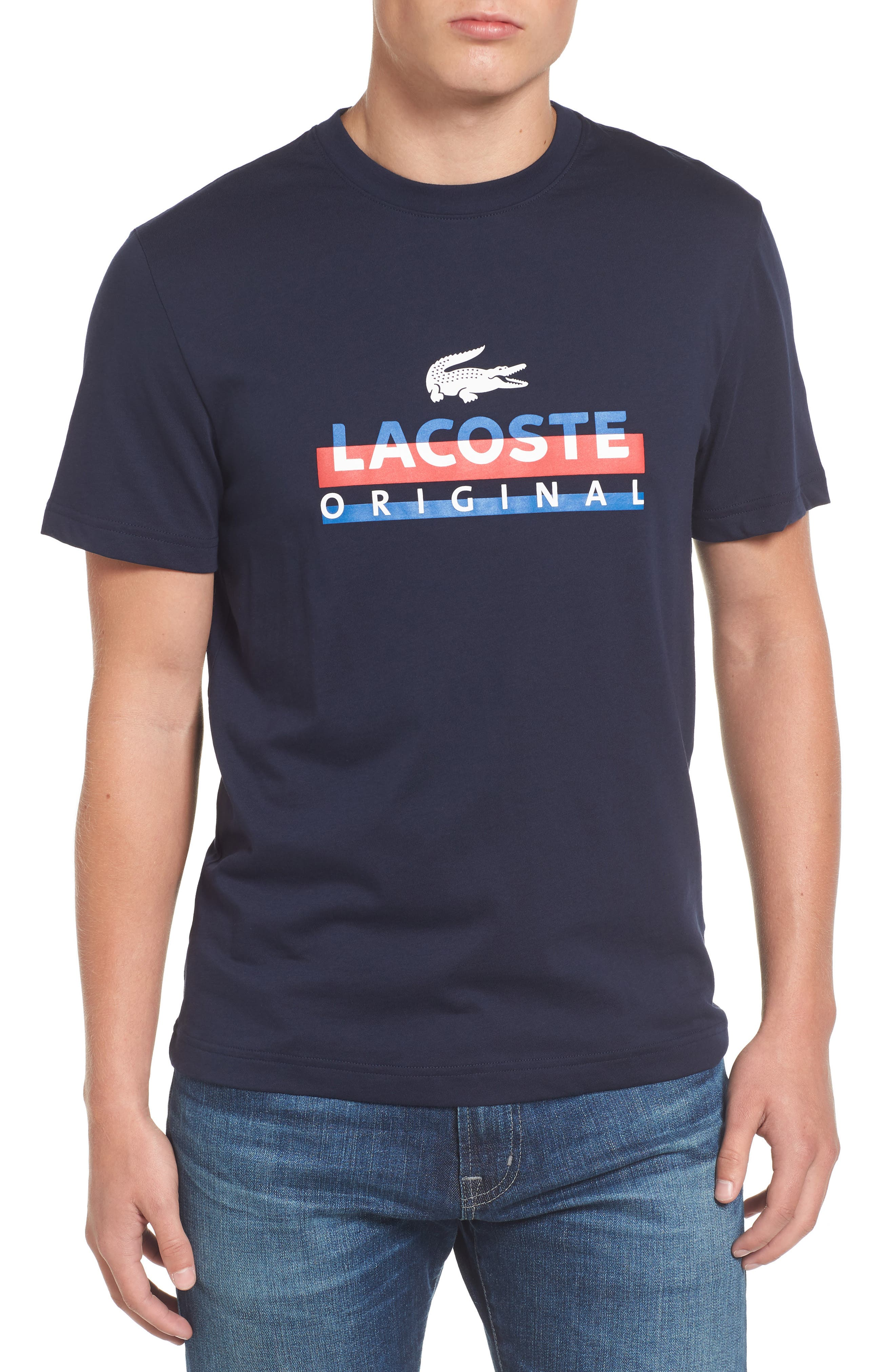 Main Image - Lacoste Graphic T-Shirt