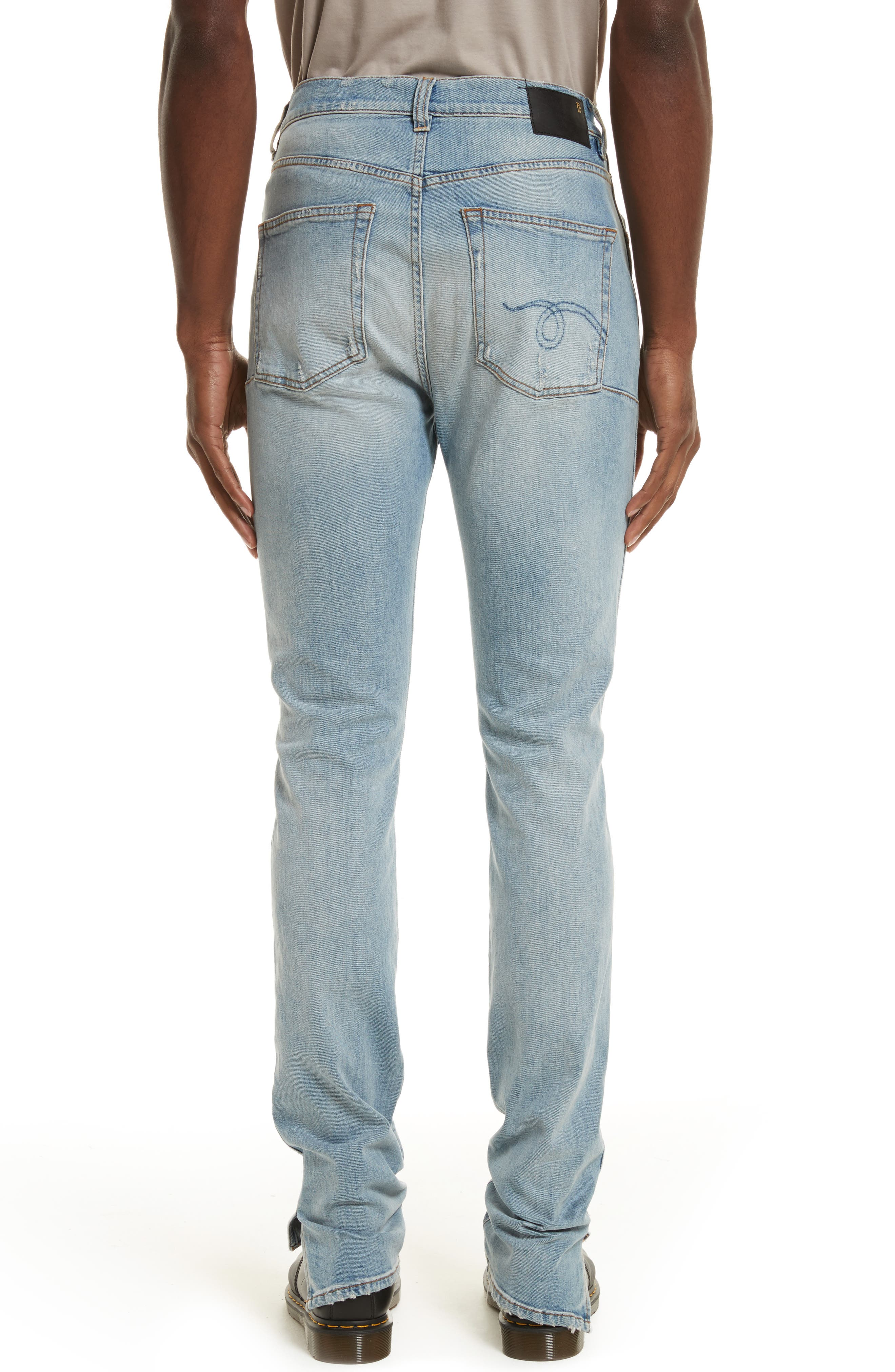 Alternate Image 2  - R13 Deacon Skate Skinny Fit Jeans