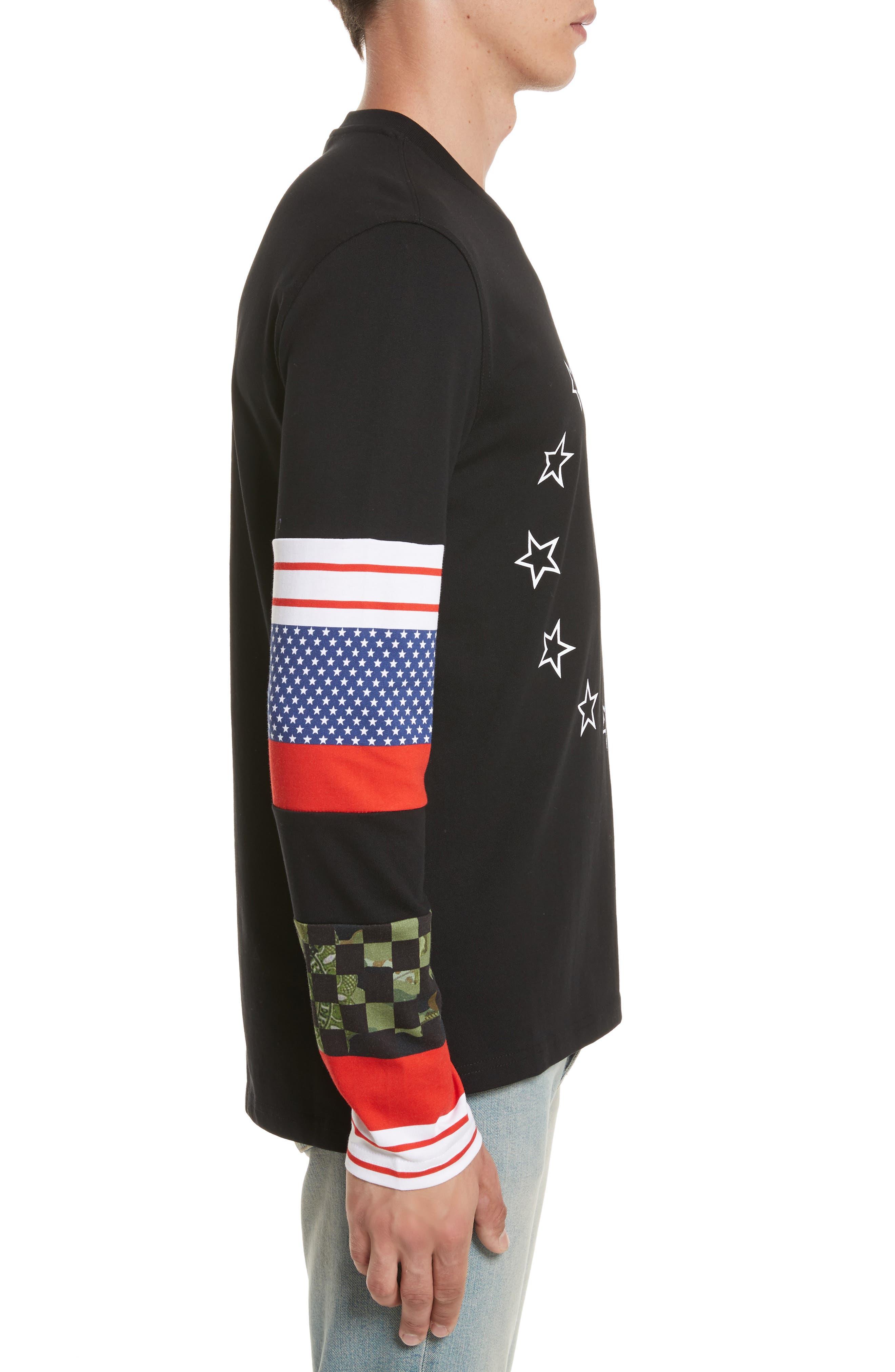 Alternate Image 3  - Givenchy Cuban Fit Circle Star Print T-Shirt
