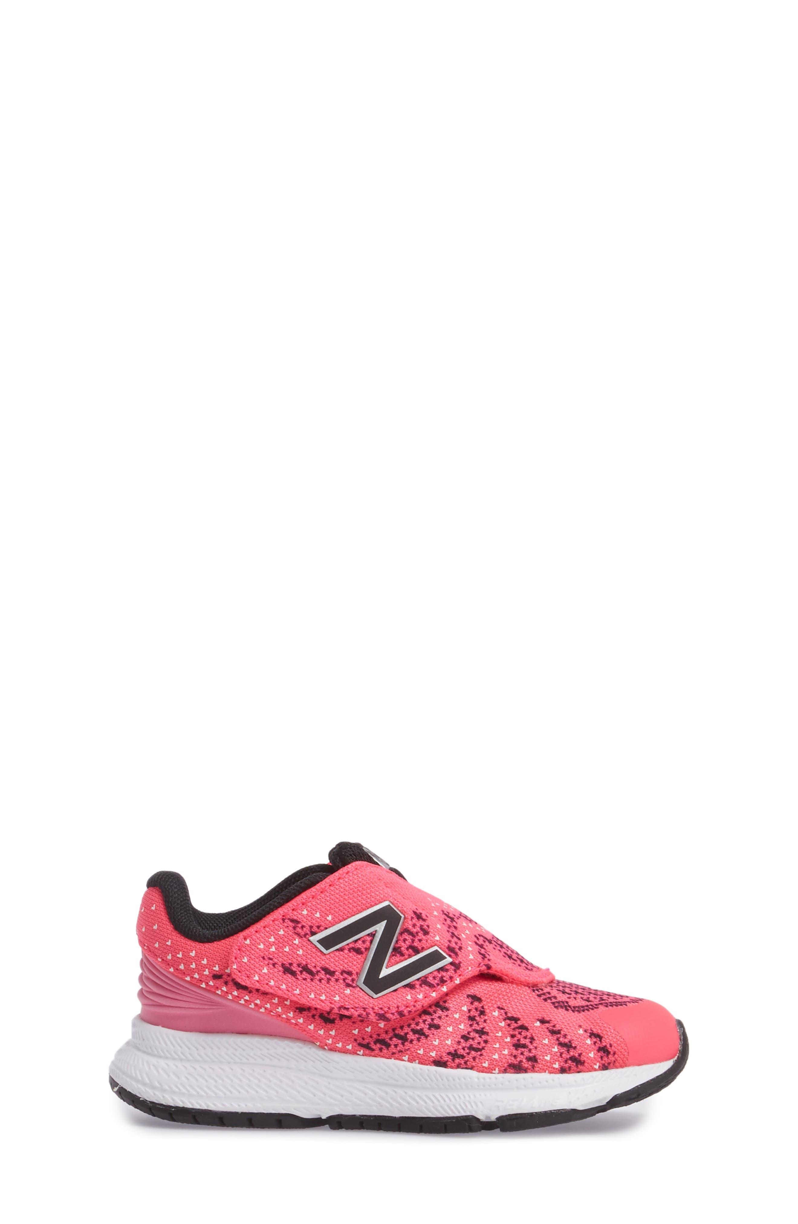 FuelCore Rush v3 Knit Sneaker,                             Alternate thumbnail 3, color,                             Pink
