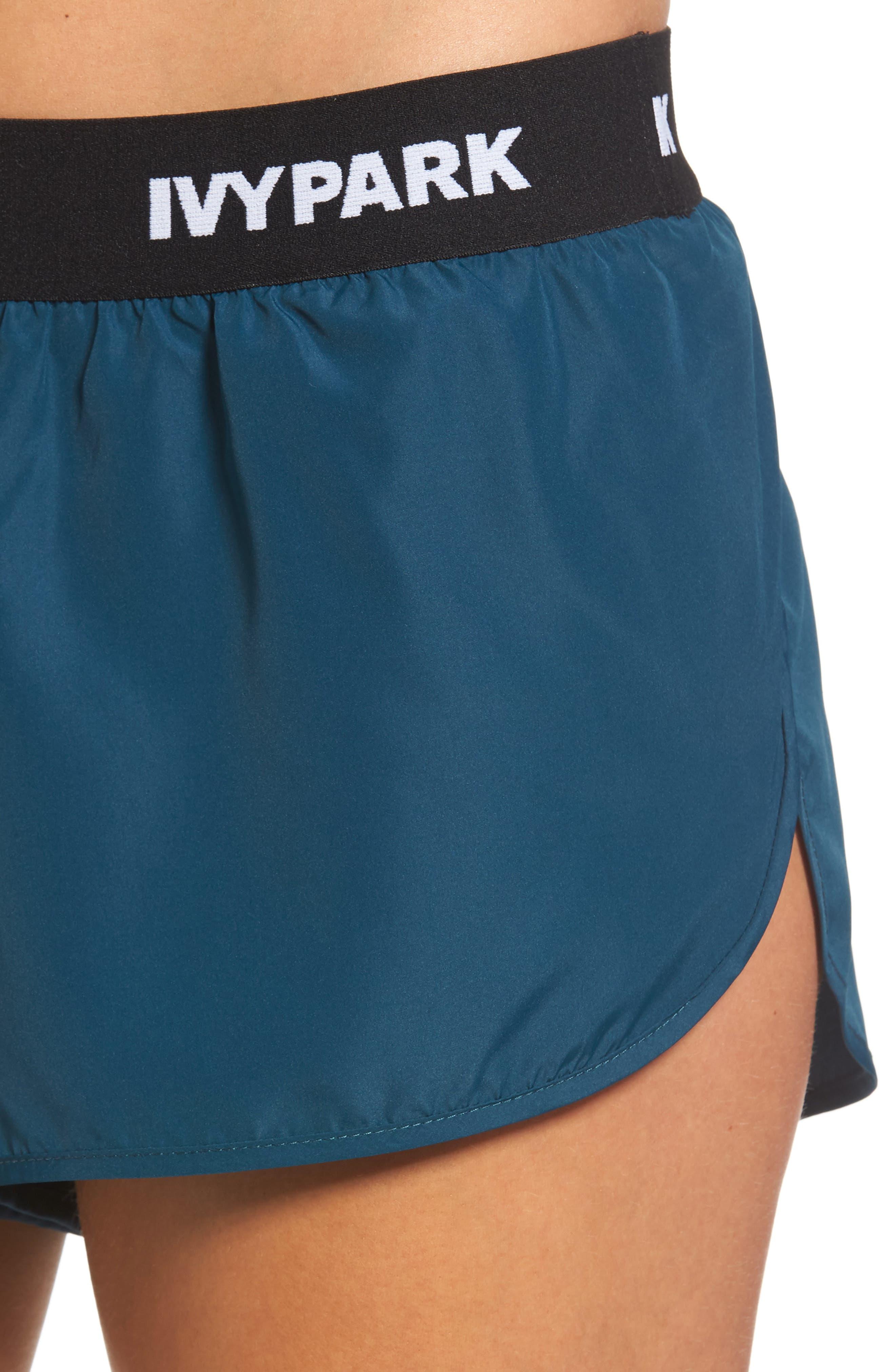 Alternate Image 4  - IVY PARK® Logo Elastic Runner Shorts