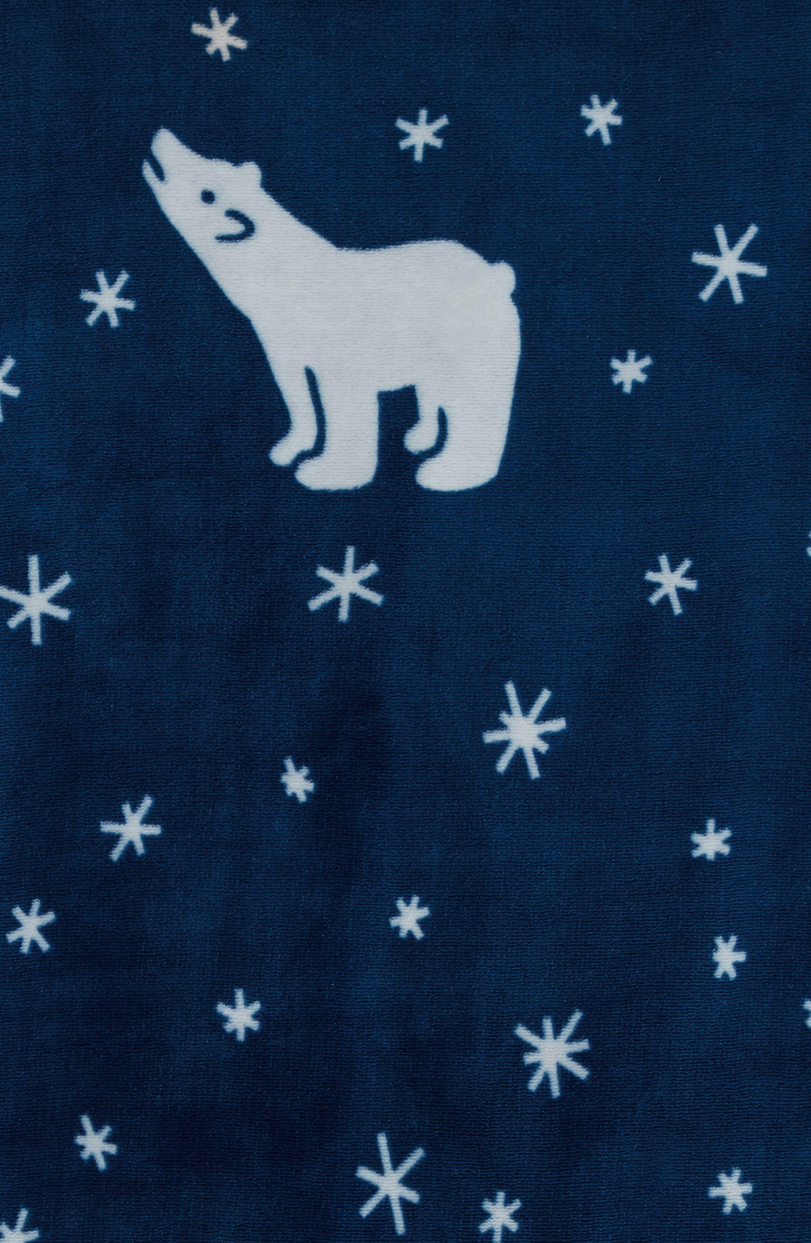 Alternate Image 2  - Nordstrom at Home Print Plush Throw Blanket