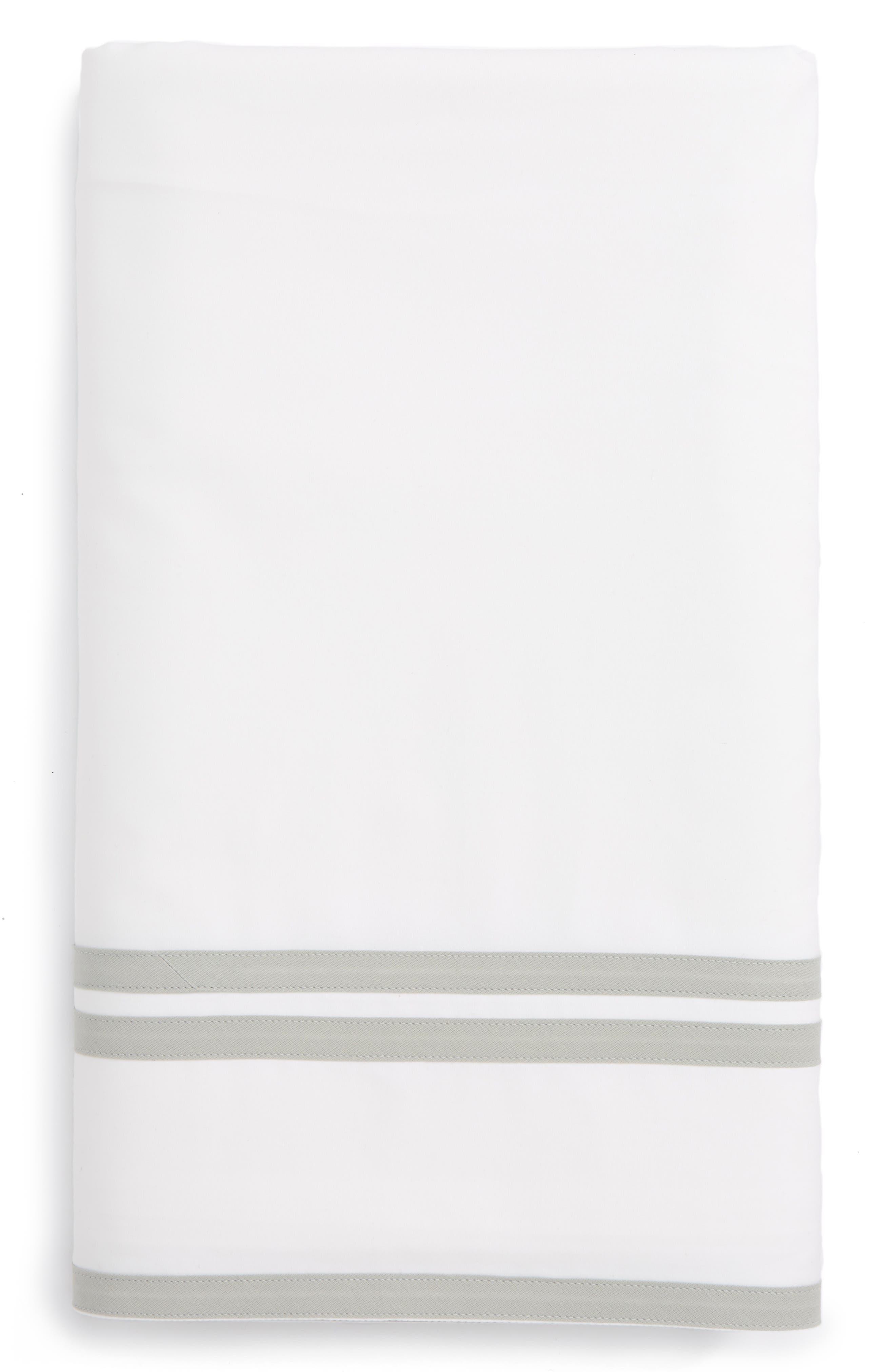 Meridian Flat Sheet,                             Main thumbnail 1, color,                             Silver