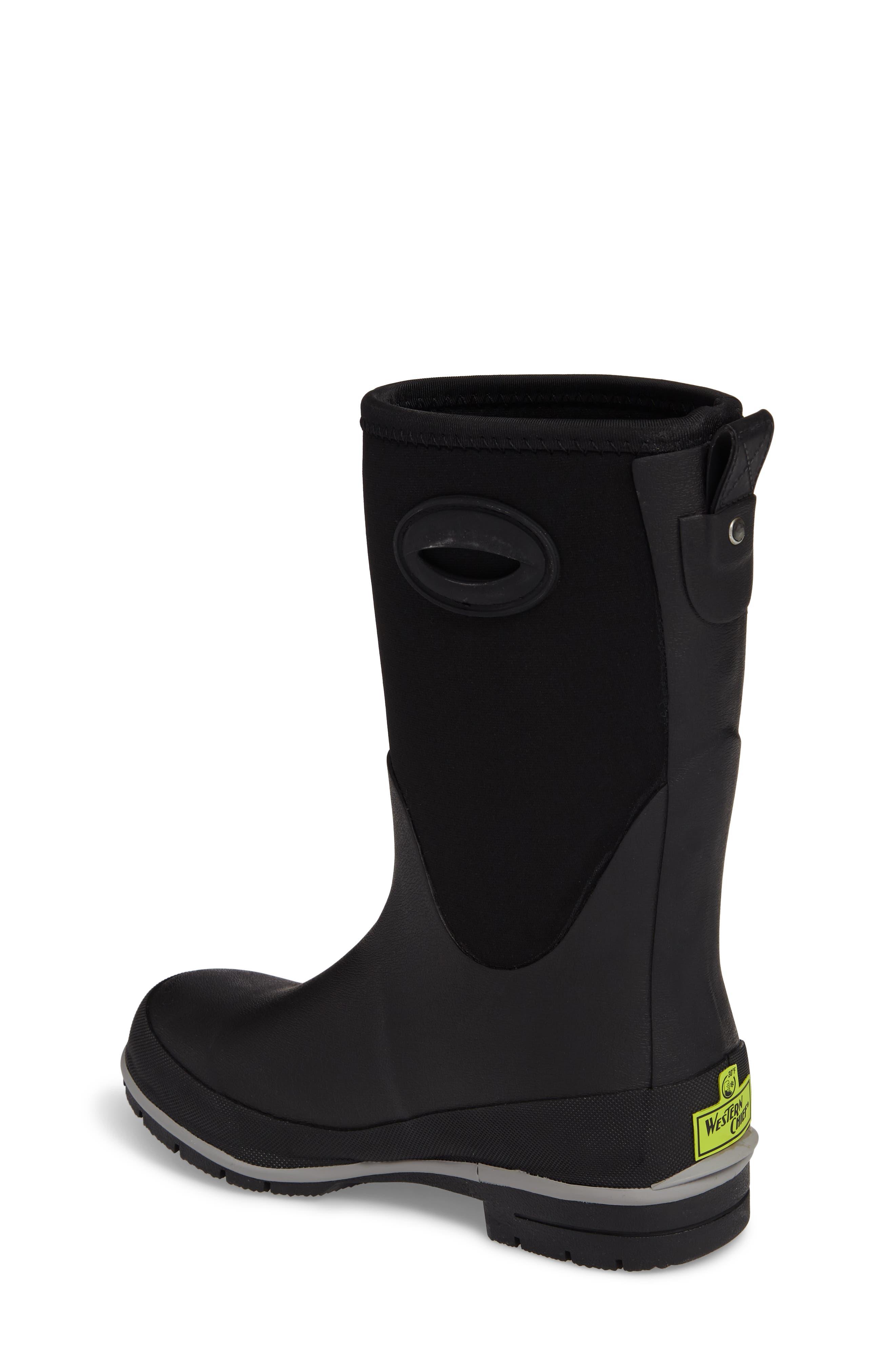 Neoprene Insulated Boot,                             Alternate thumbnail 2, color,                             Black