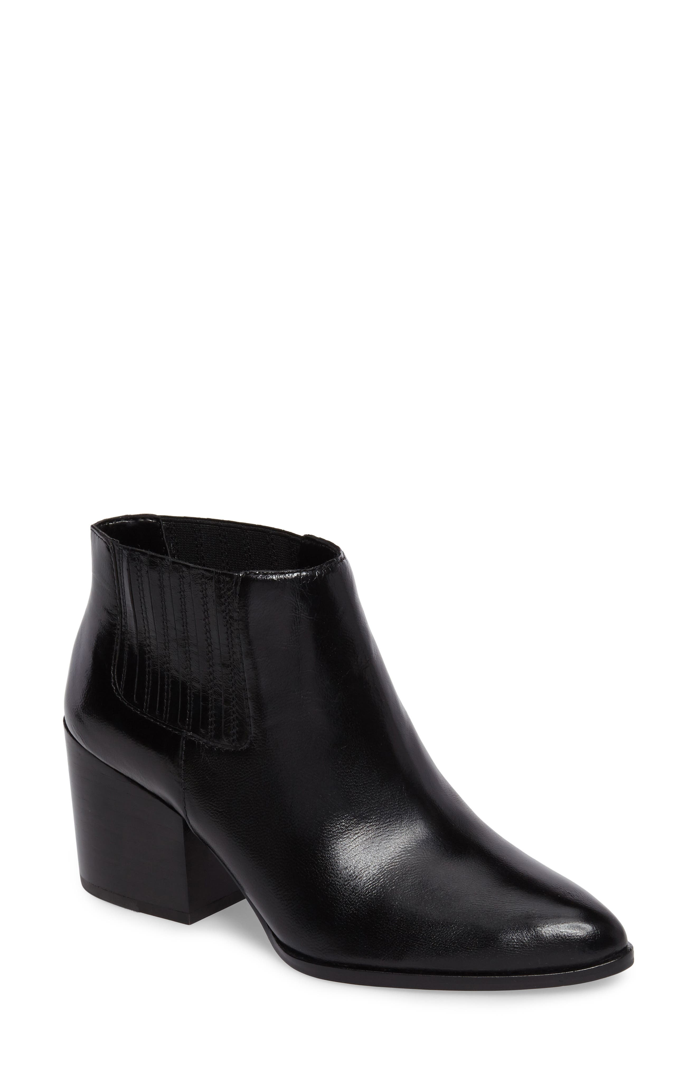 Jemore Boot,                         Main,                         color, Black Leather