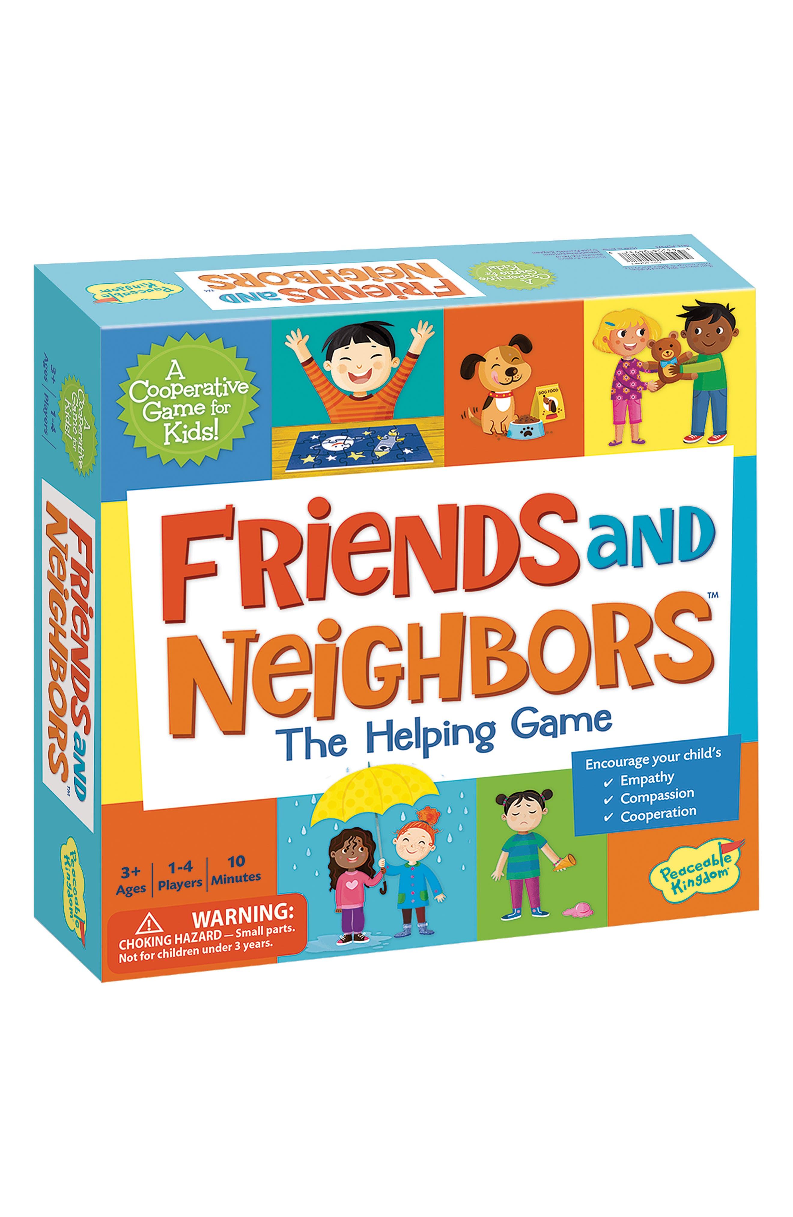 Friends & Neighbors Cooperative Board Game,                         Main,                         color, Multi