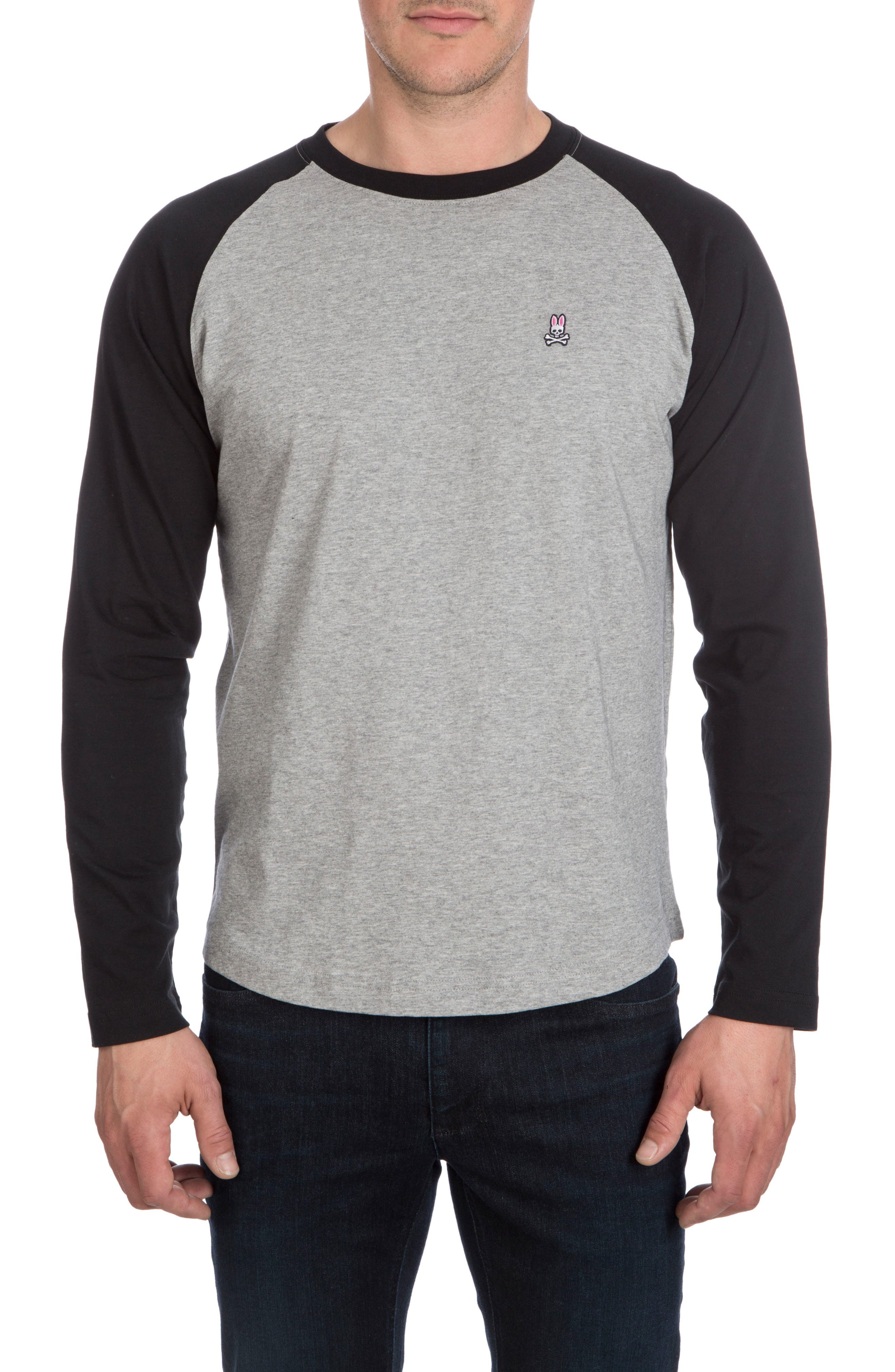 Alternate Image 1 Selected - Psycho Bunny Cobb Raglan T-Shirt