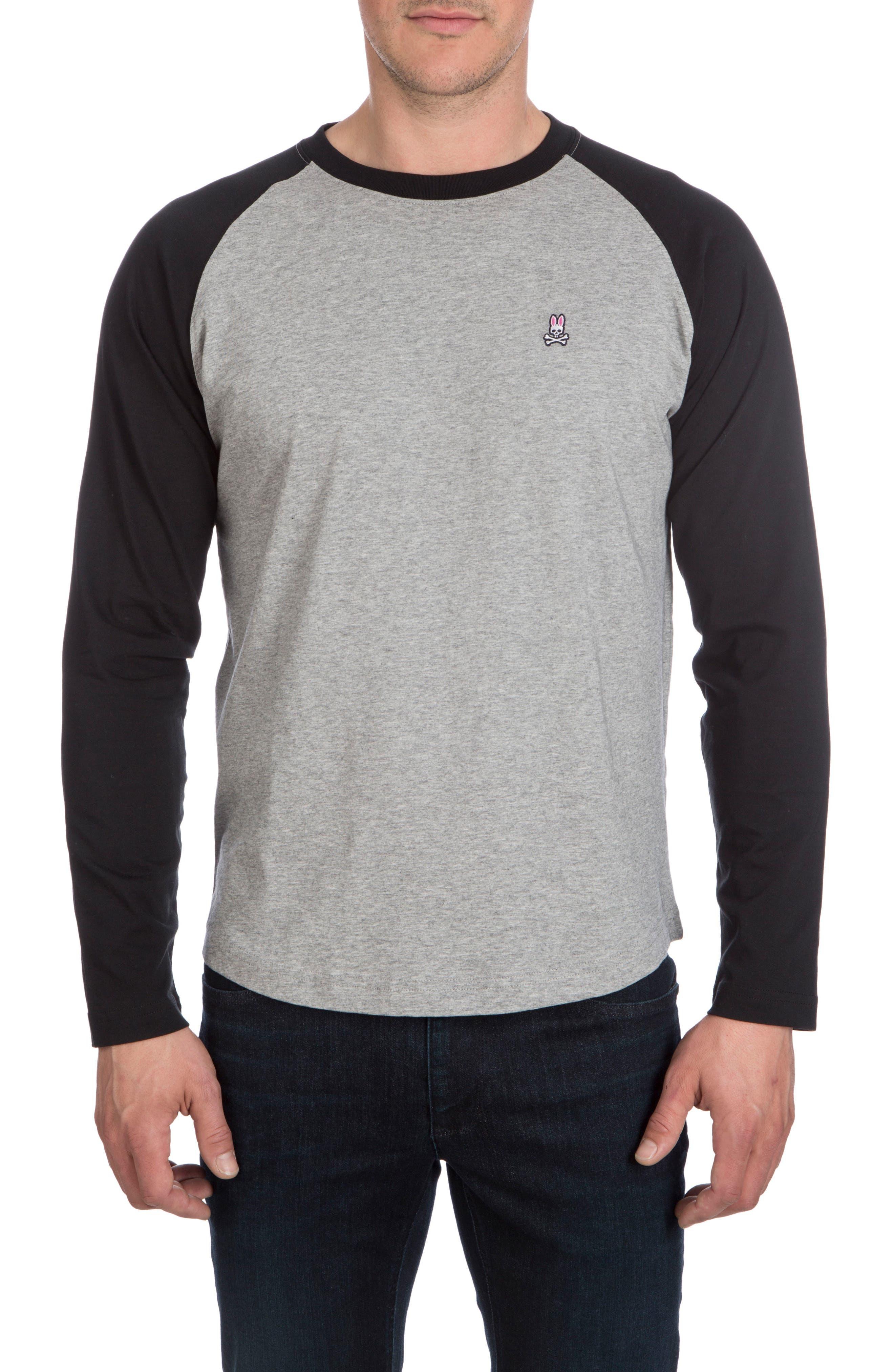 Psycho Bunny Cobb Raglan T-Shirt