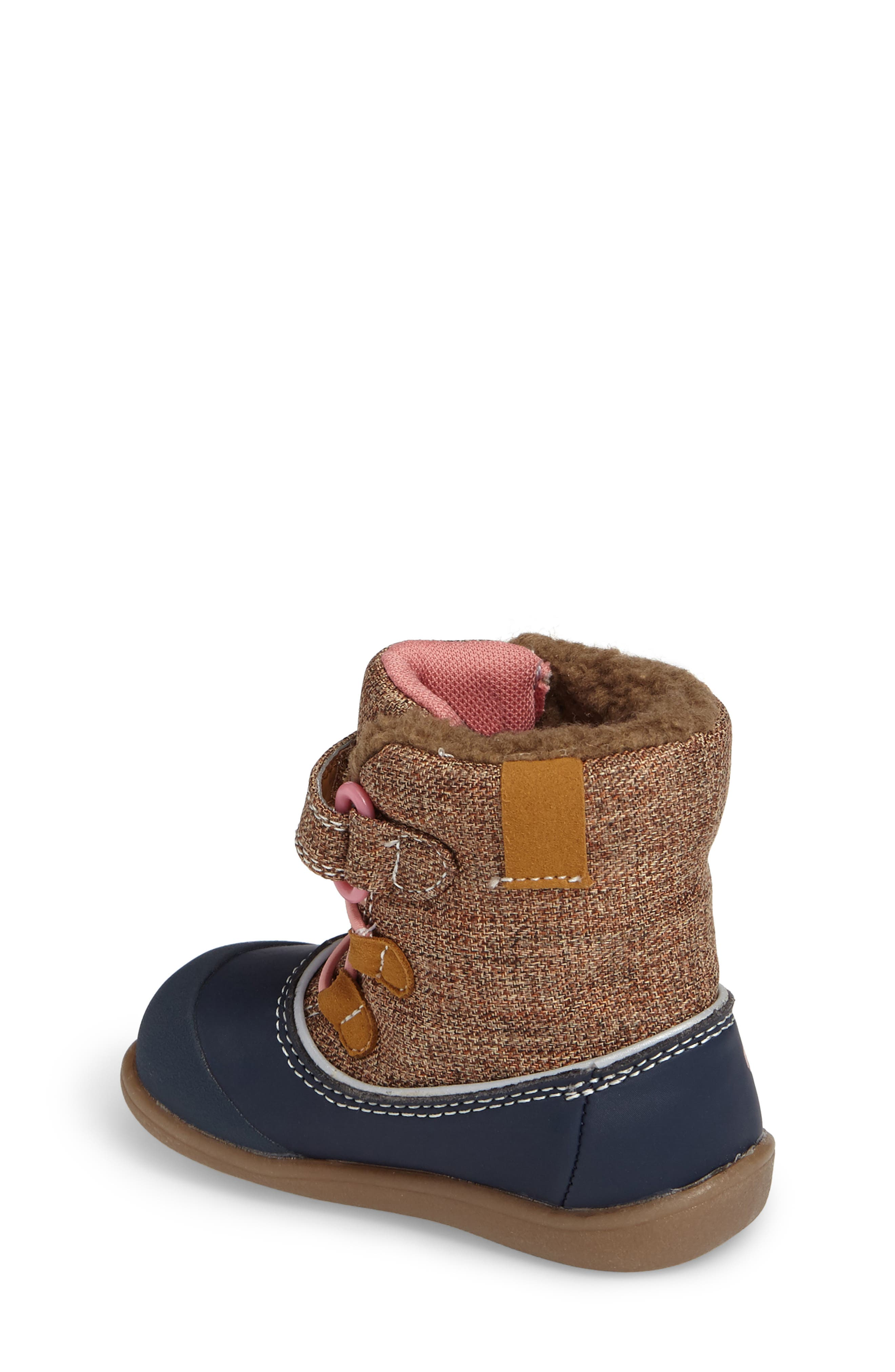 'Abby' Waterproof Boot,                             Alternate thumbnail 2, color,                             Brown