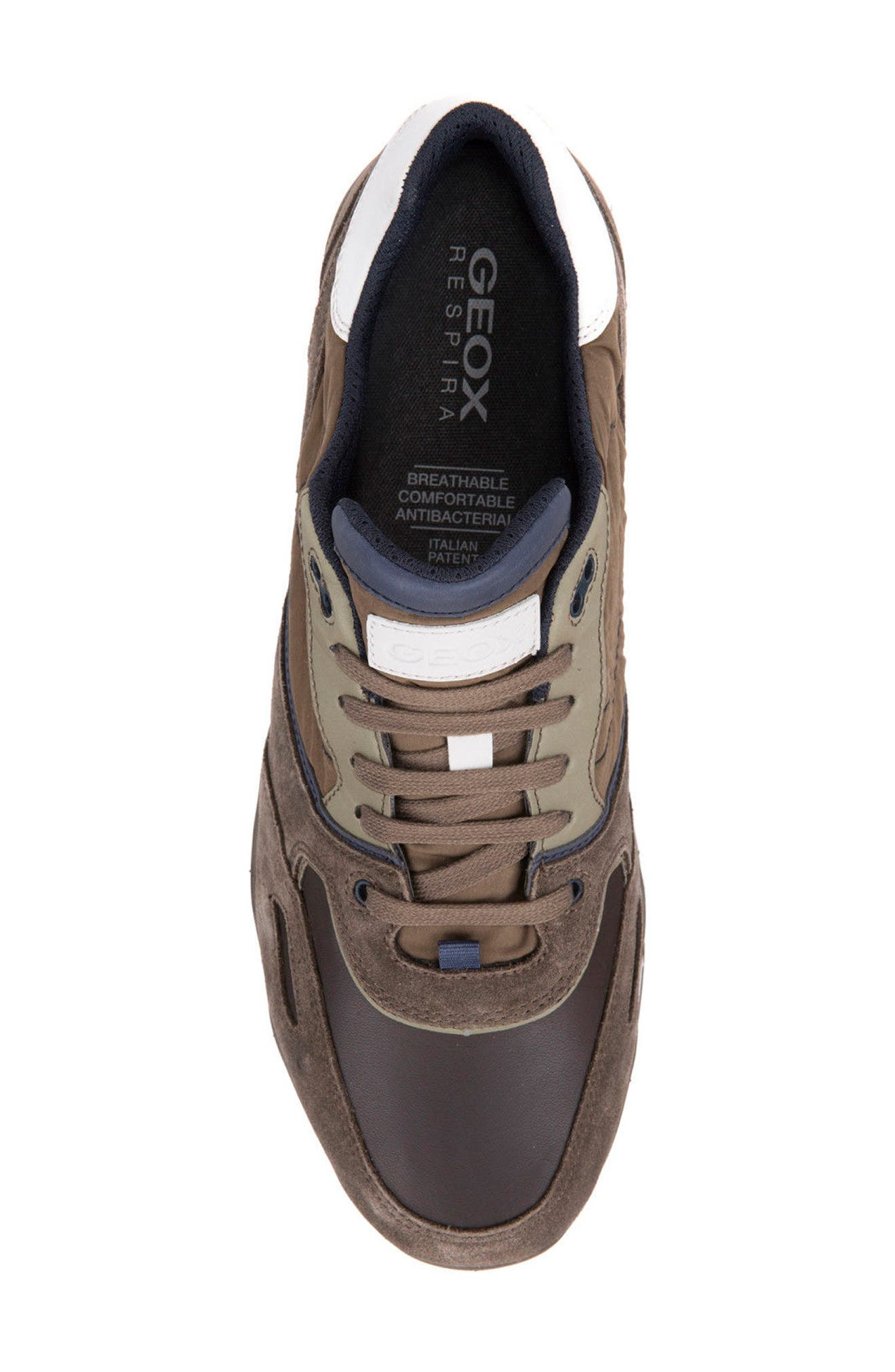 Sandro ABX Ambphibiox Waterproof Sneaker,                             Alternate thumbnail 5, color,                             Taupe