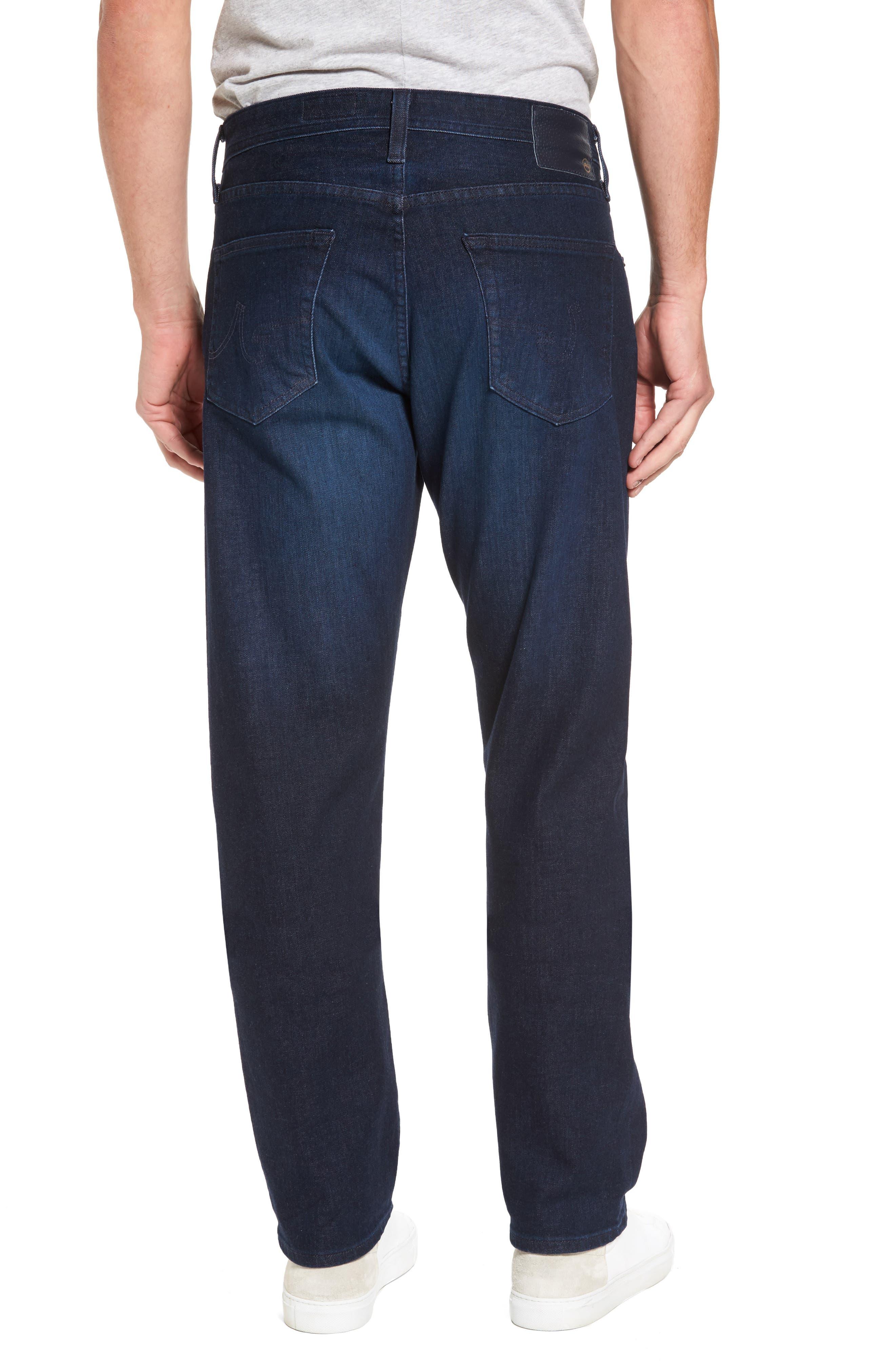 Alternate Image 2  - AG Ives Straight Leg Jeans (Vibe)