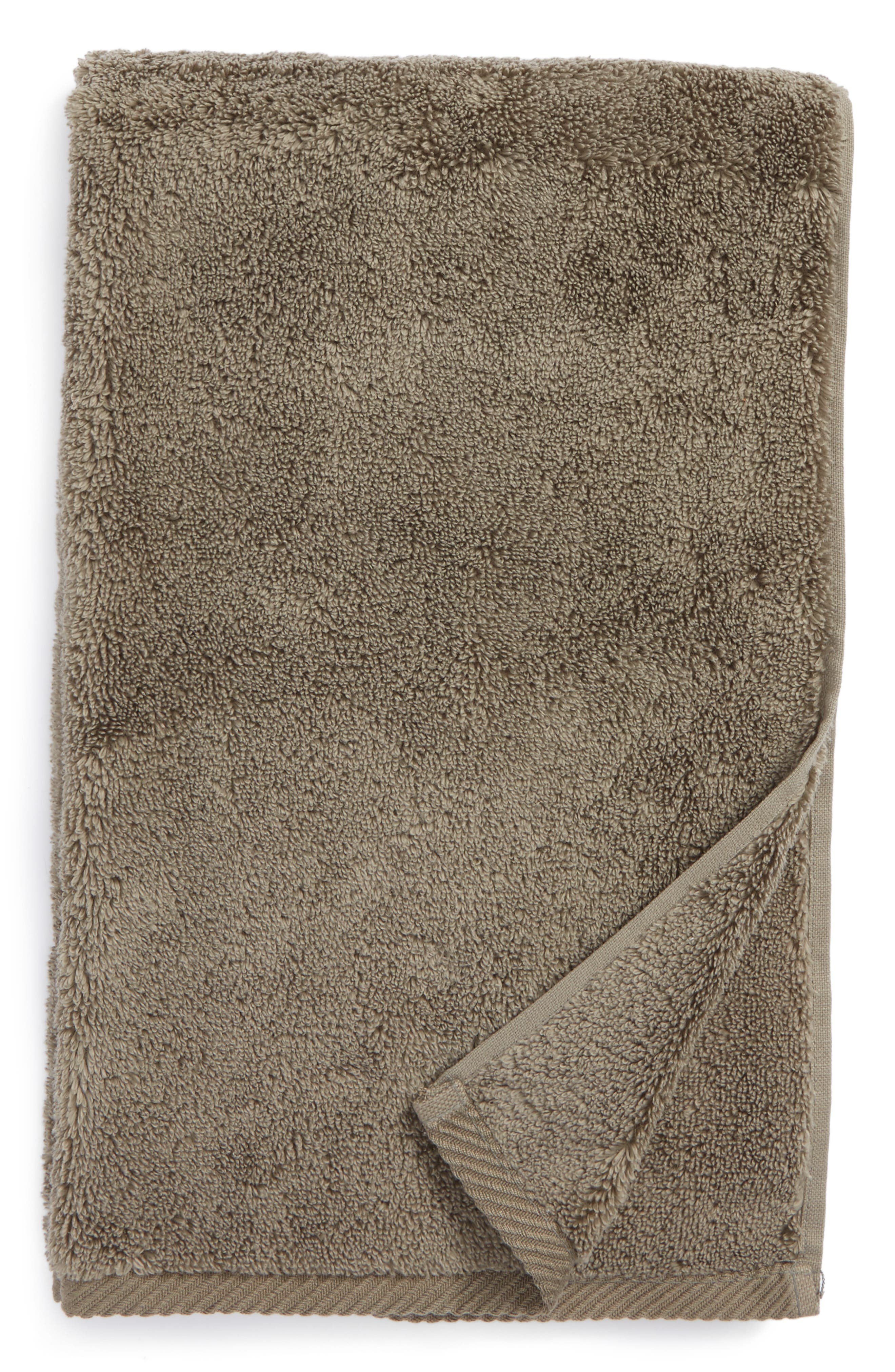 Milagro Hand Towel,                         Main,                         color, Steel