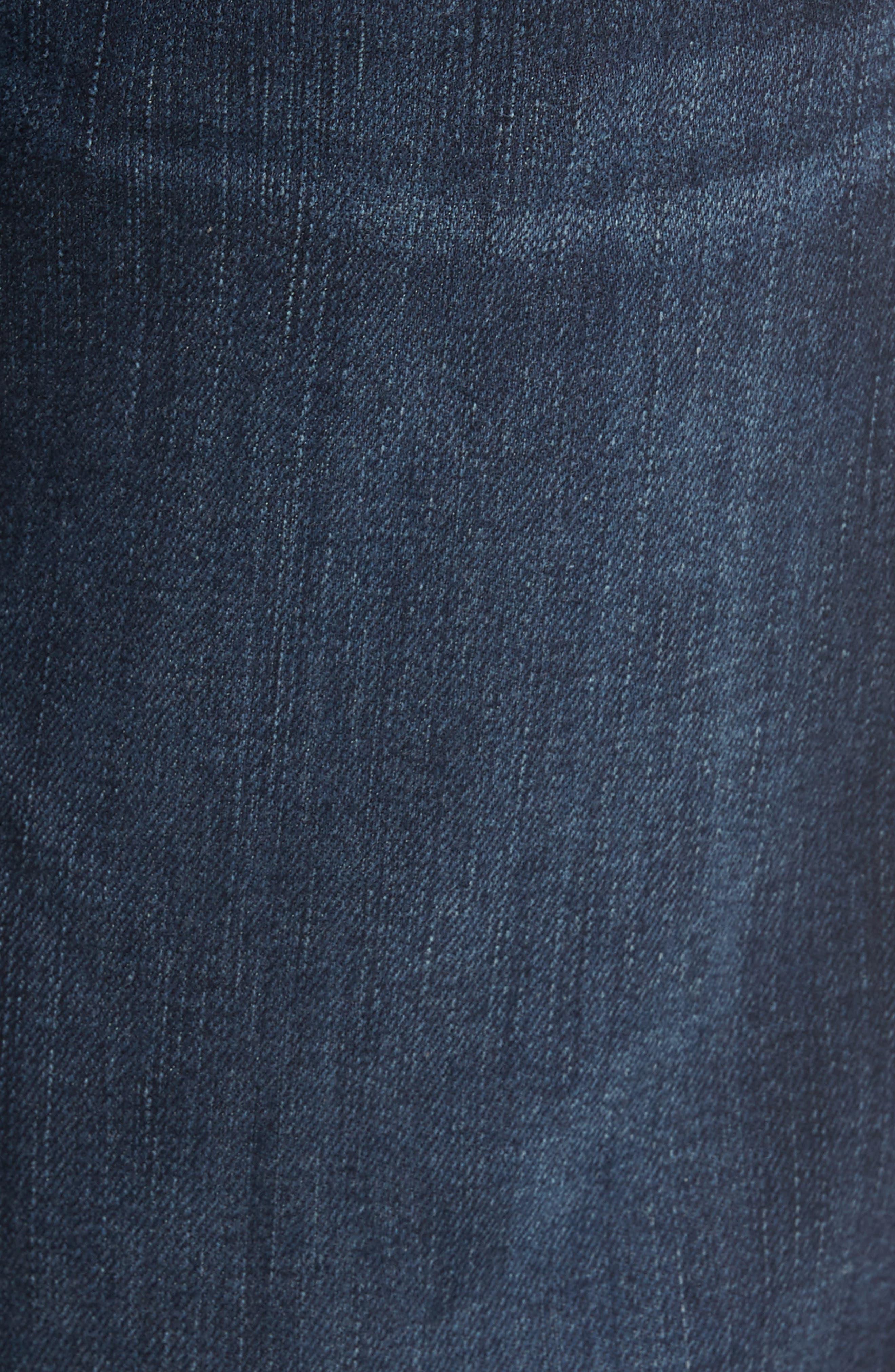 Luxe Performance - Carsen Straight Leg Jeans,                             Alternate thumbnail 5, color,                             Dark Current