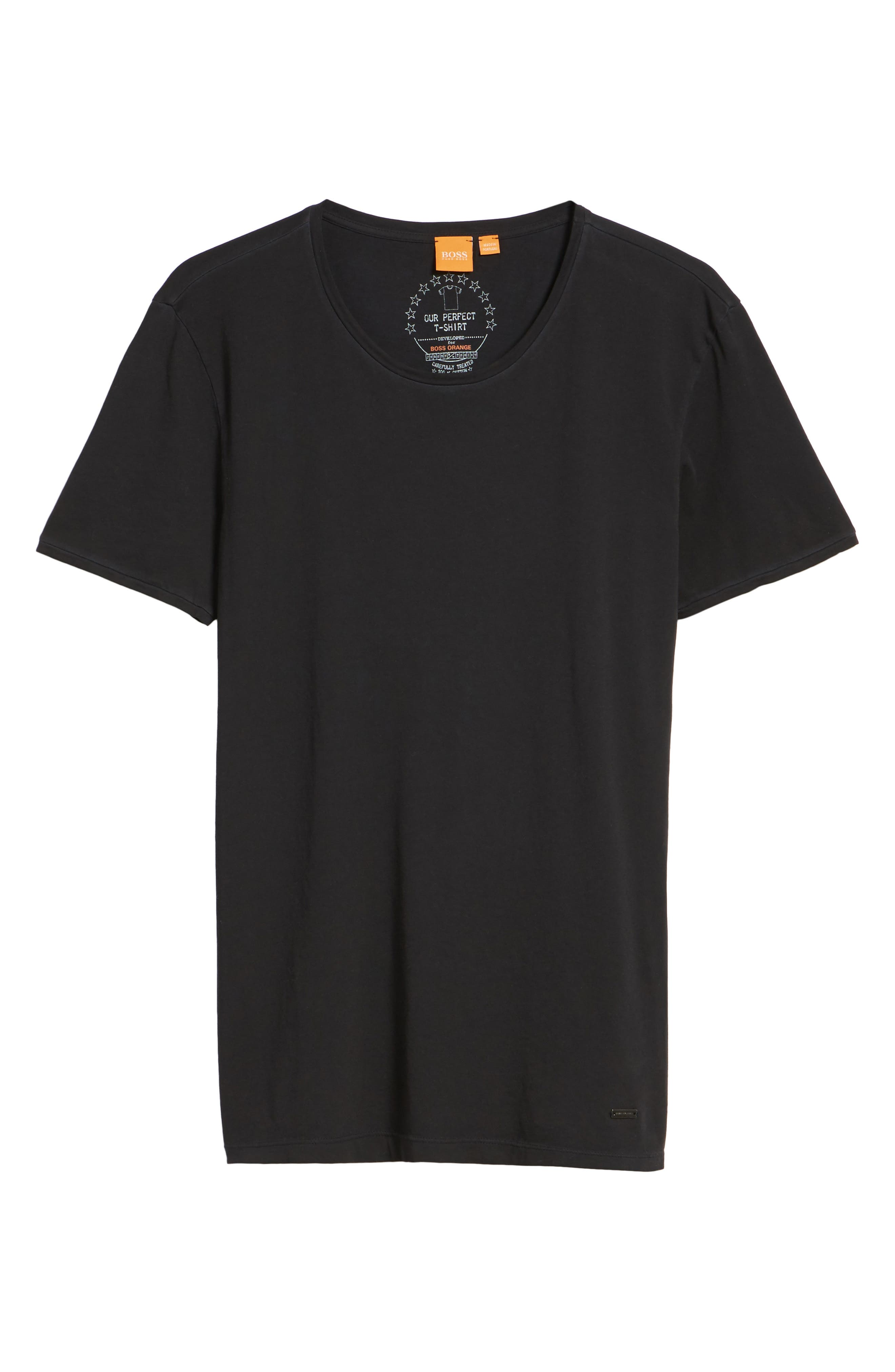 Alternate Image 6  - BOSS Orange Touring Solid T-Shirt