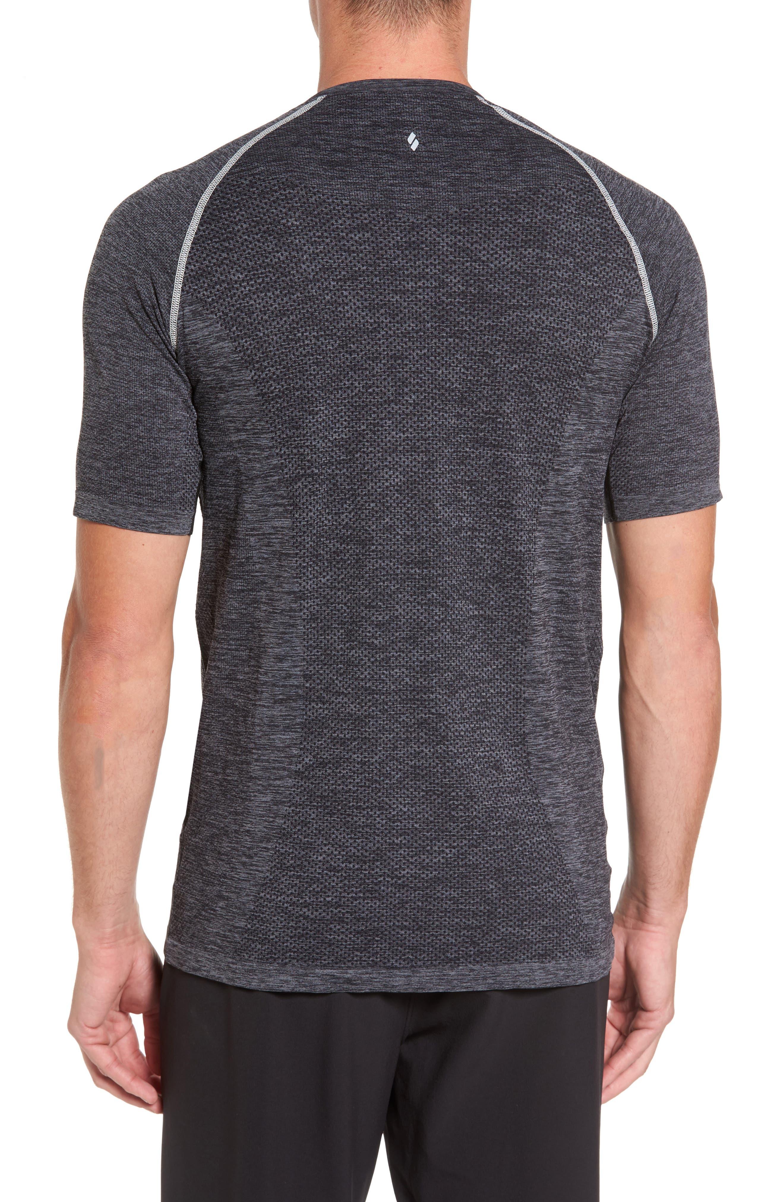 Alternate Image 2  - SODO Seamless Crewneck Performance T-Shirt
