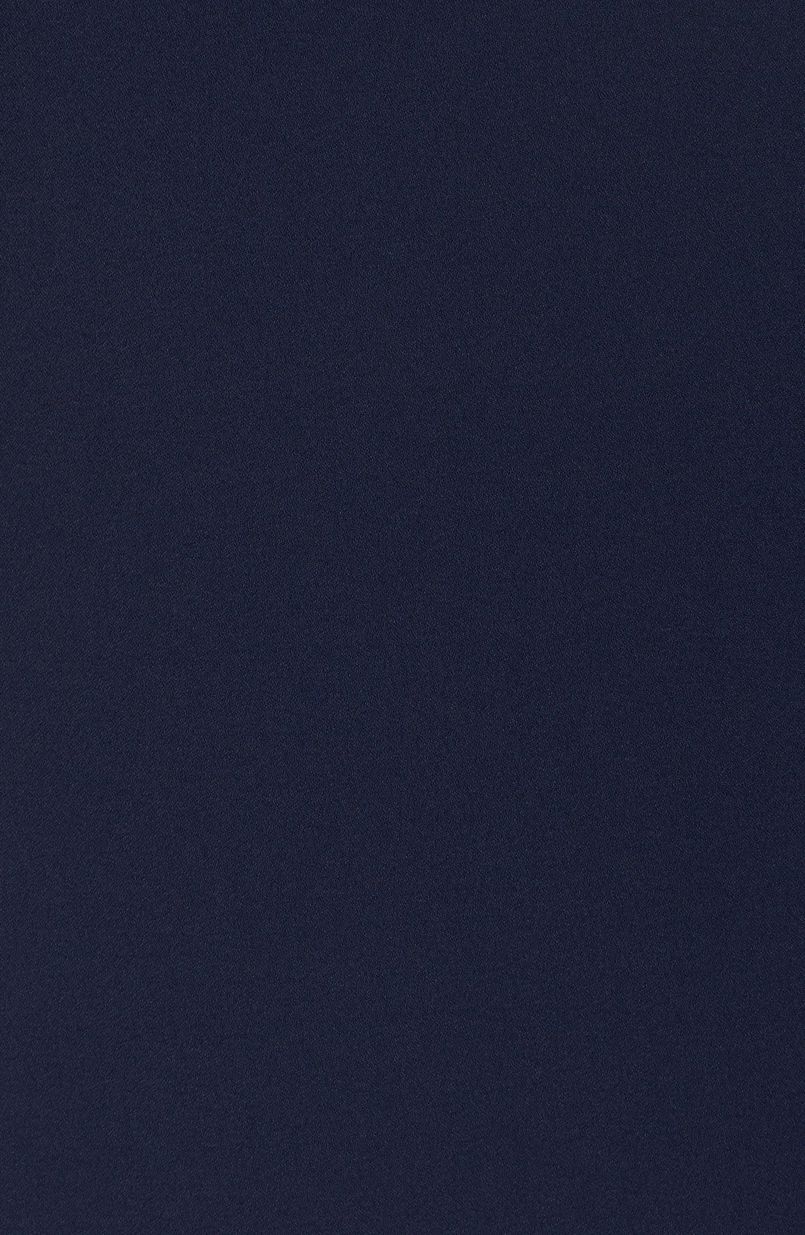 Alternate Image 5  - Tahari Lace Trim Shift Dress (Plus Size)
