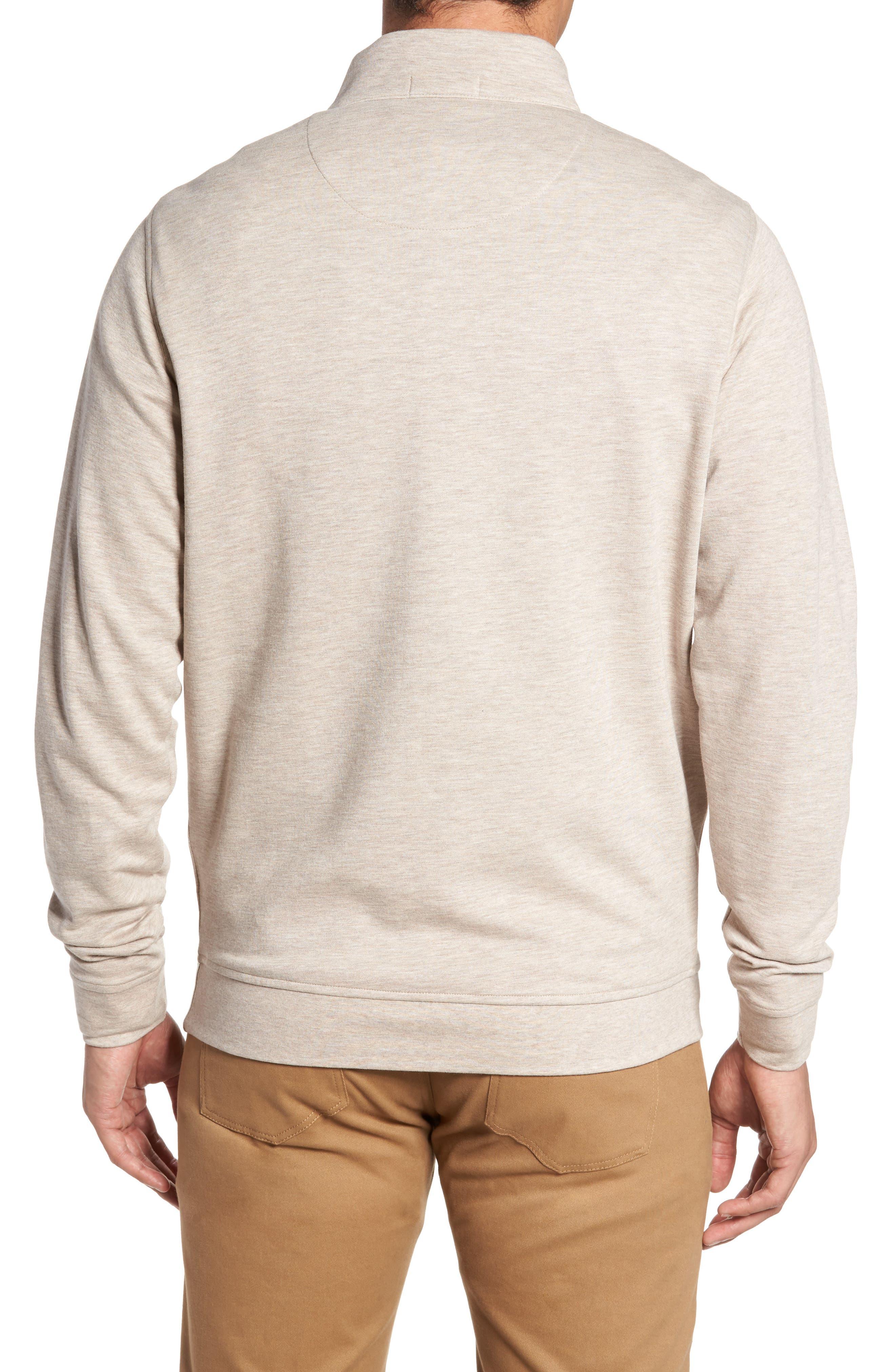 Alternate Image 2  - Peter Millar Crown Comfort Jersey Quarter Zip Pullover