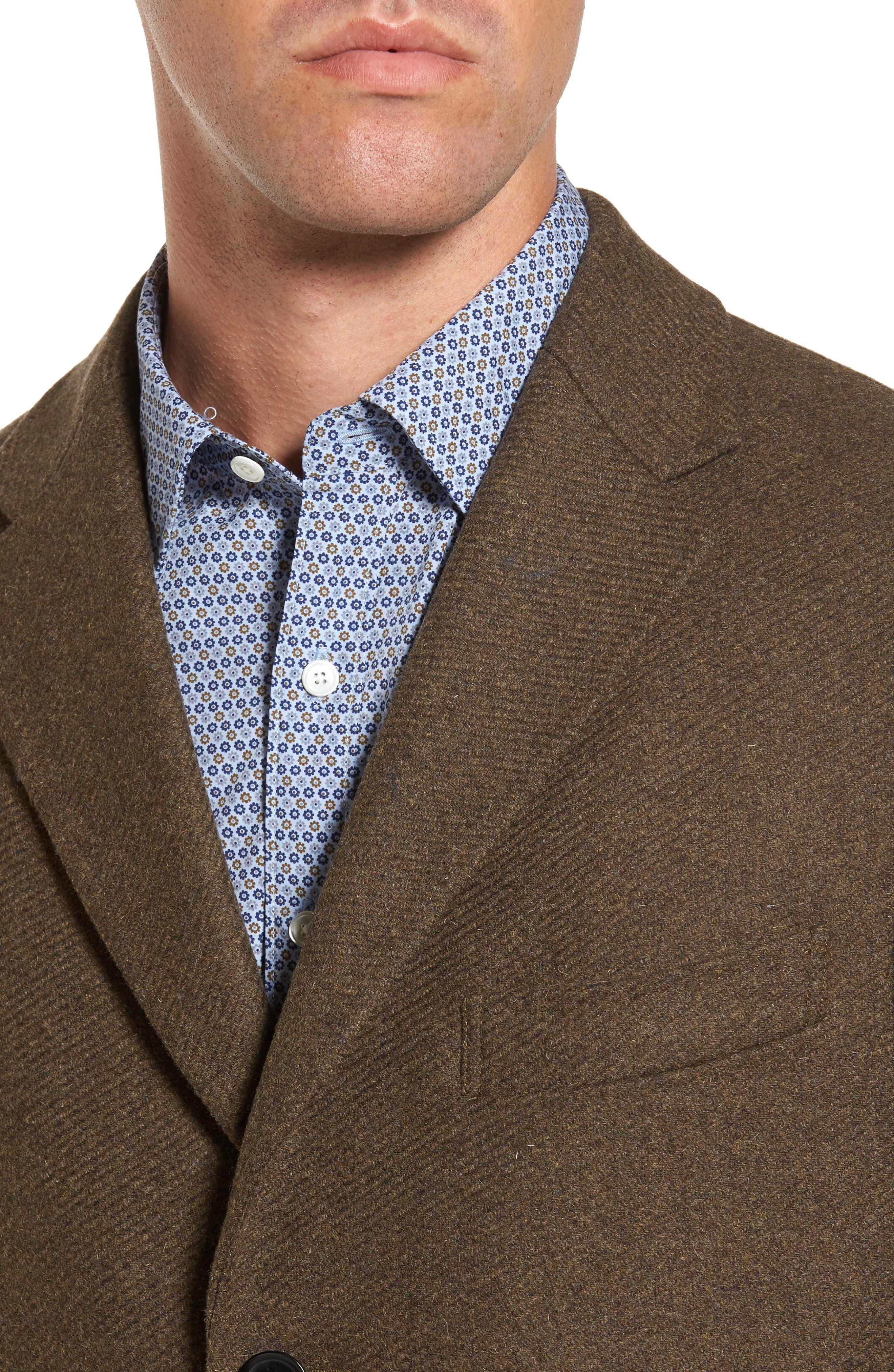 Alternate Image 4  - Rodd & Gunn Stirling Point Wool Blend Coat