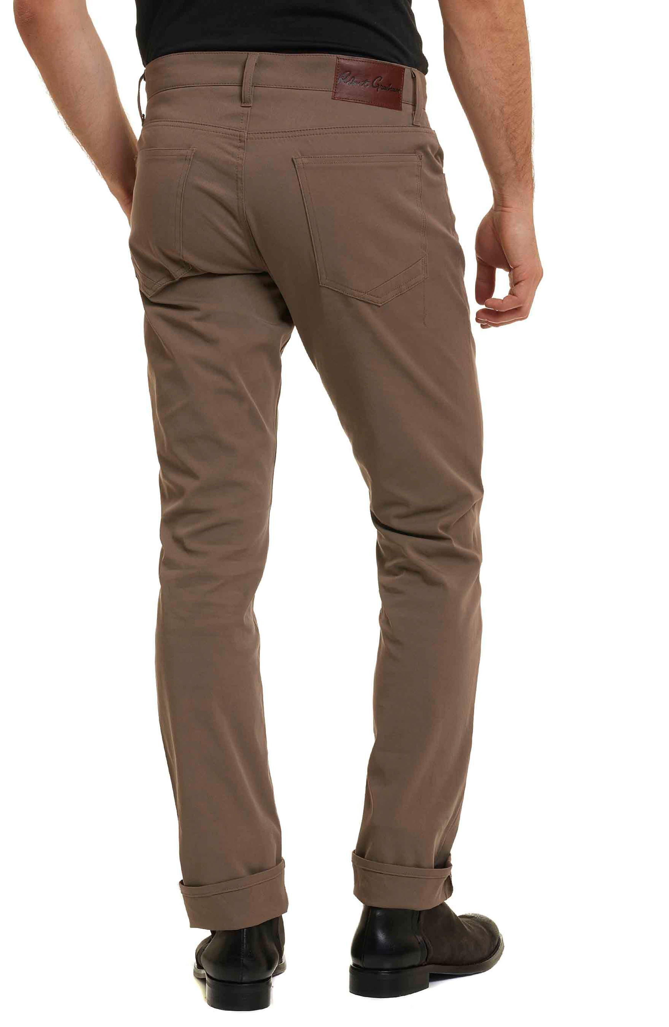 Alternate Image 2  - Robert Graham Tanner Five-Pocket Pants