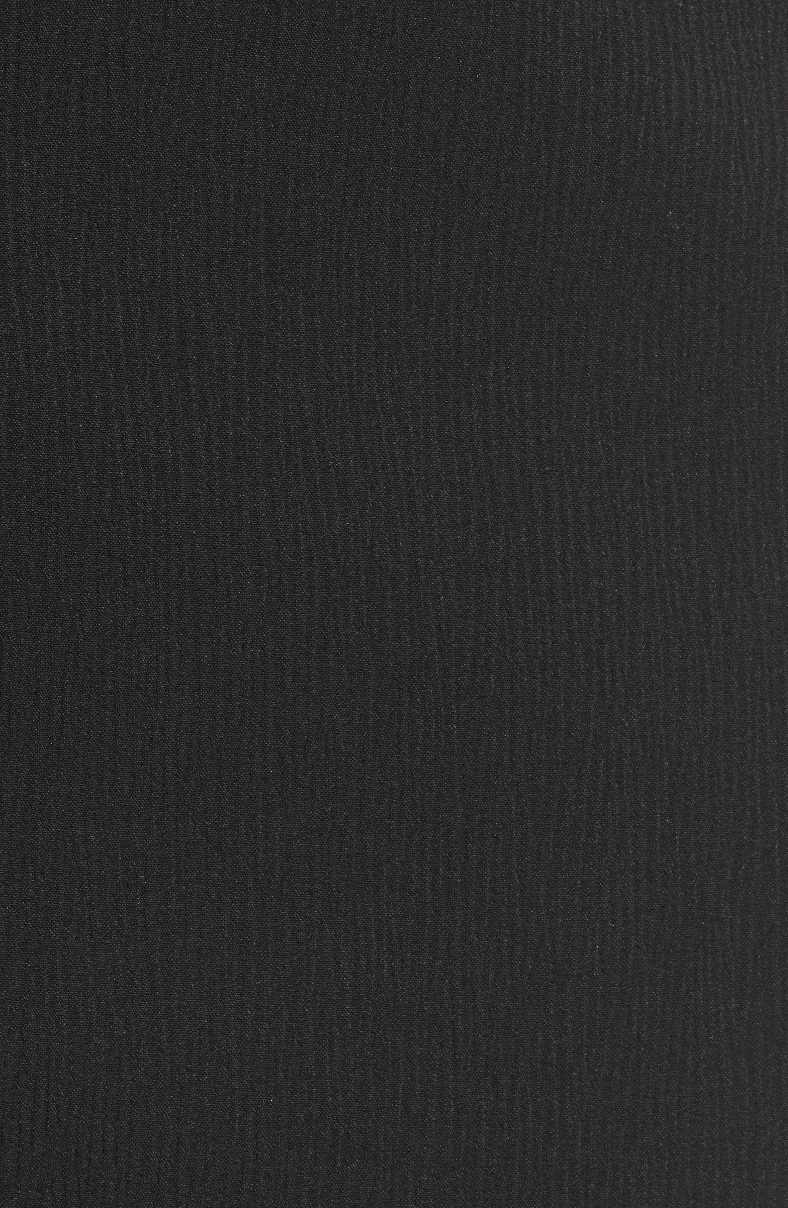 Alternate Image 5  - BOSS Vanafea Zip Front Crepe Pencil Skirt