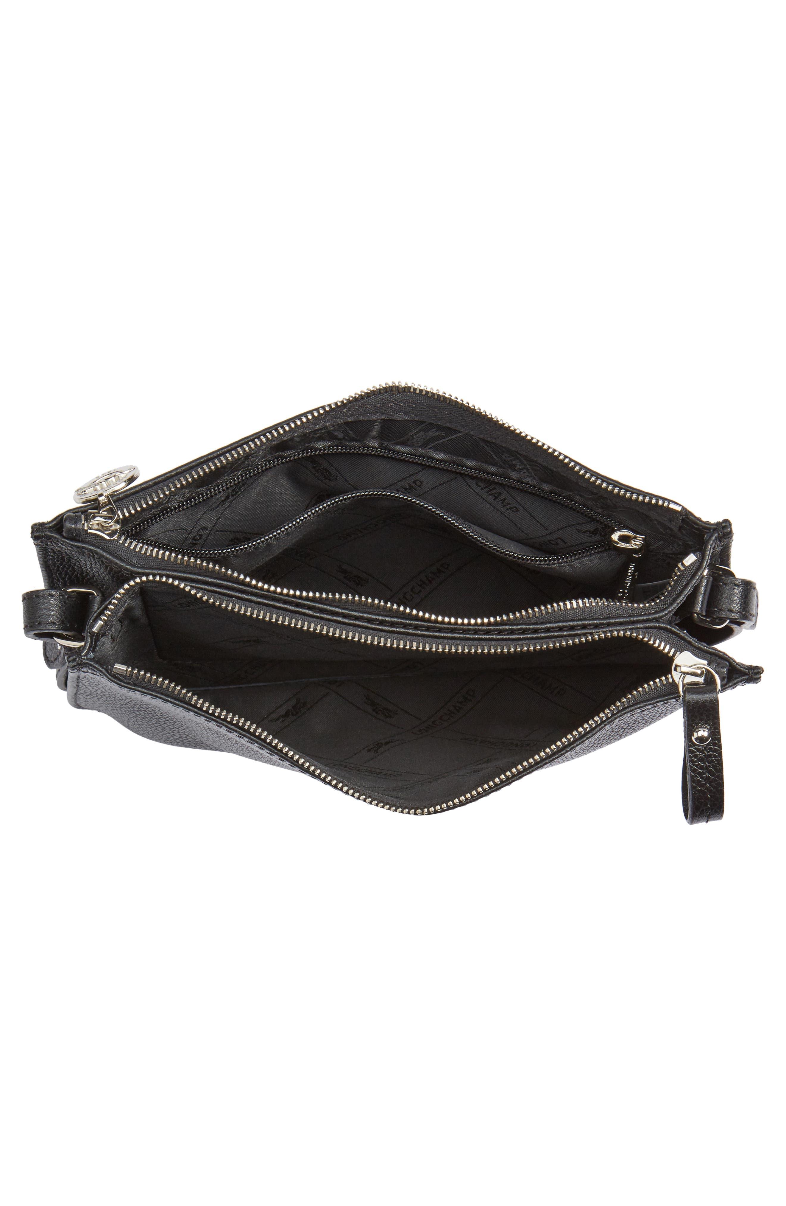 Alternate Image 4  - Longchamp Le Foulonne Leather Crossbody Bag