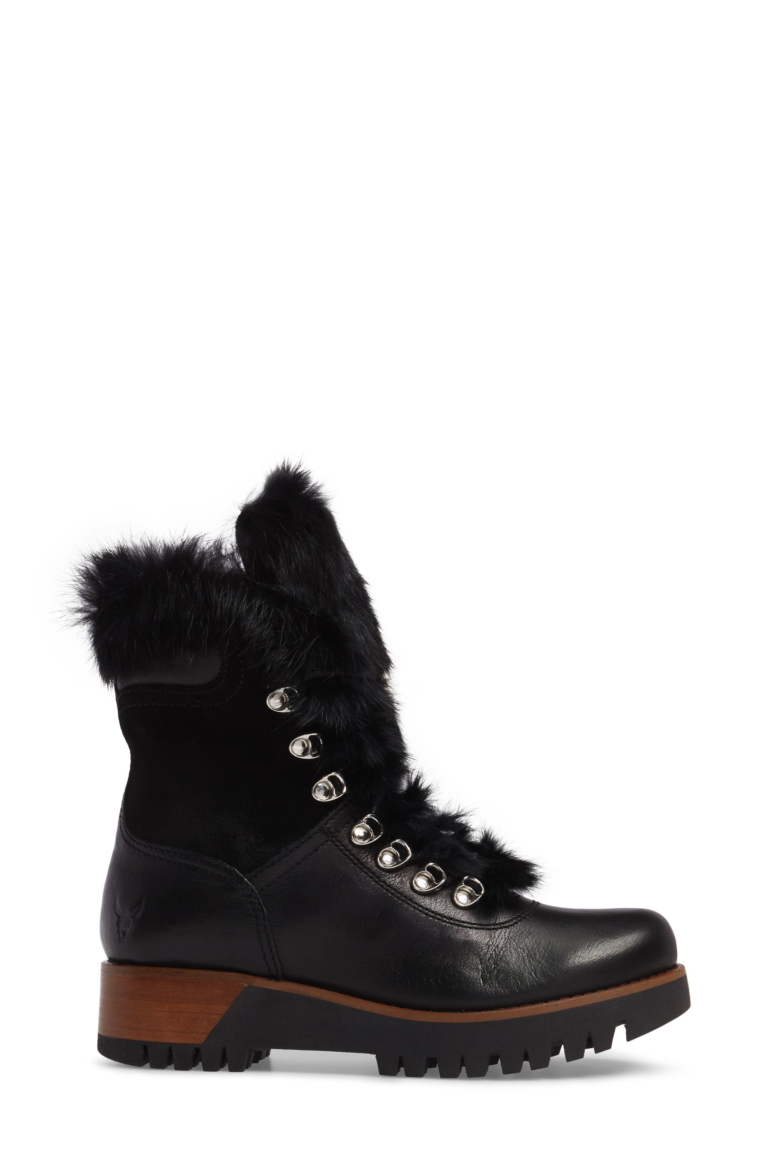 Alternate Image 3  - Rudsak Tsar Genuine Rabbit Fur Boot (Women)