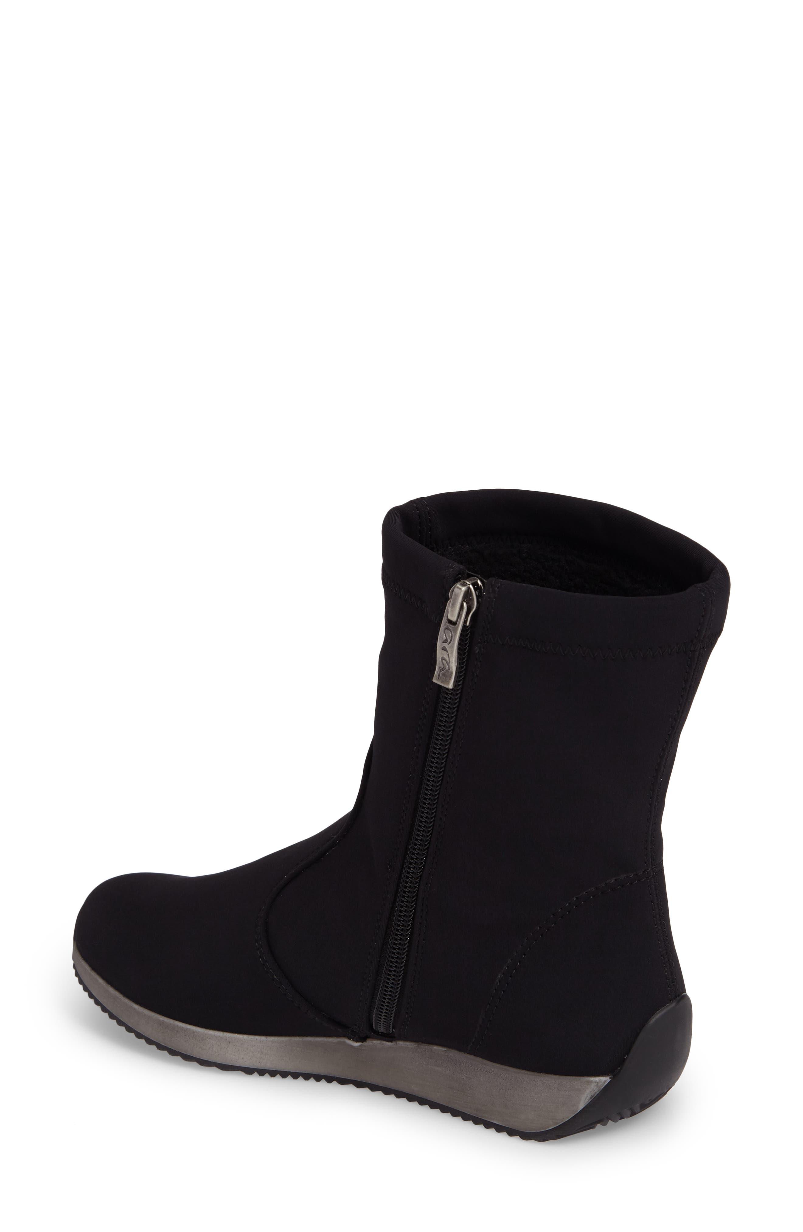 Luella Waterproof Gore-Tex<sup>®</sup> Boot,                             Alternate thumbnail 2, color,                             Black Textile