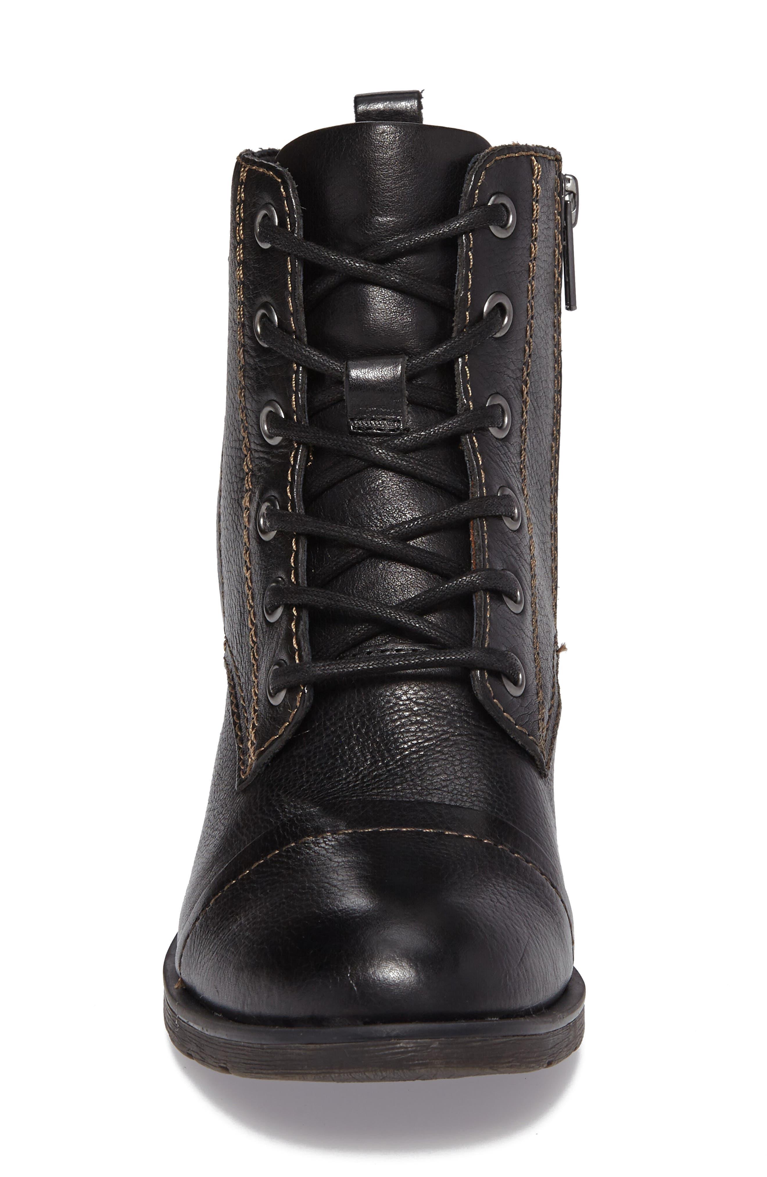 Alternate Image 4  - Söfft Belton Cap Toe Combat Boot (Women)