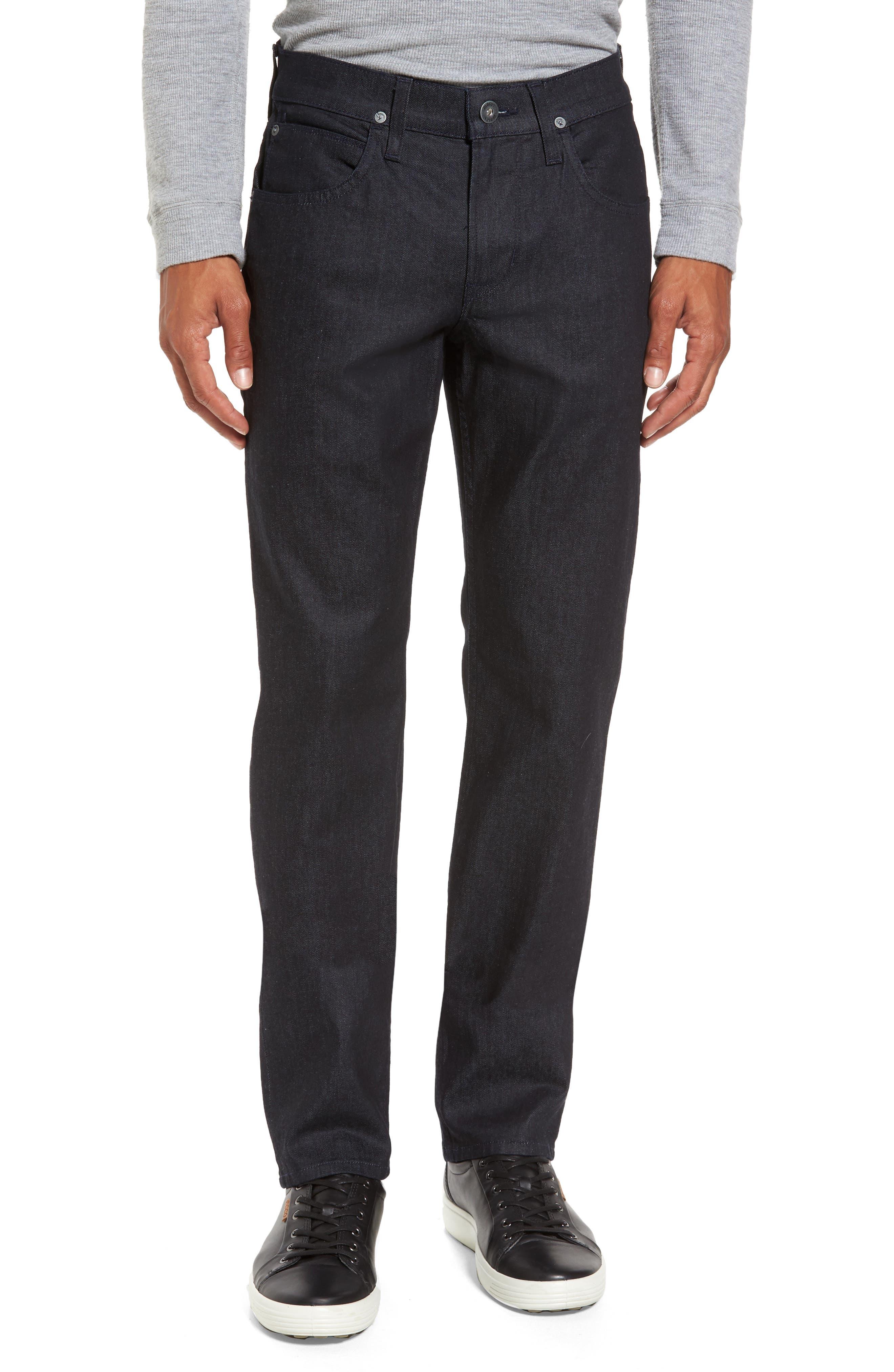 Alternate Image 1 Selected - Hudson Jeans Byron Slim Straight Leg Jeans (Bounty)