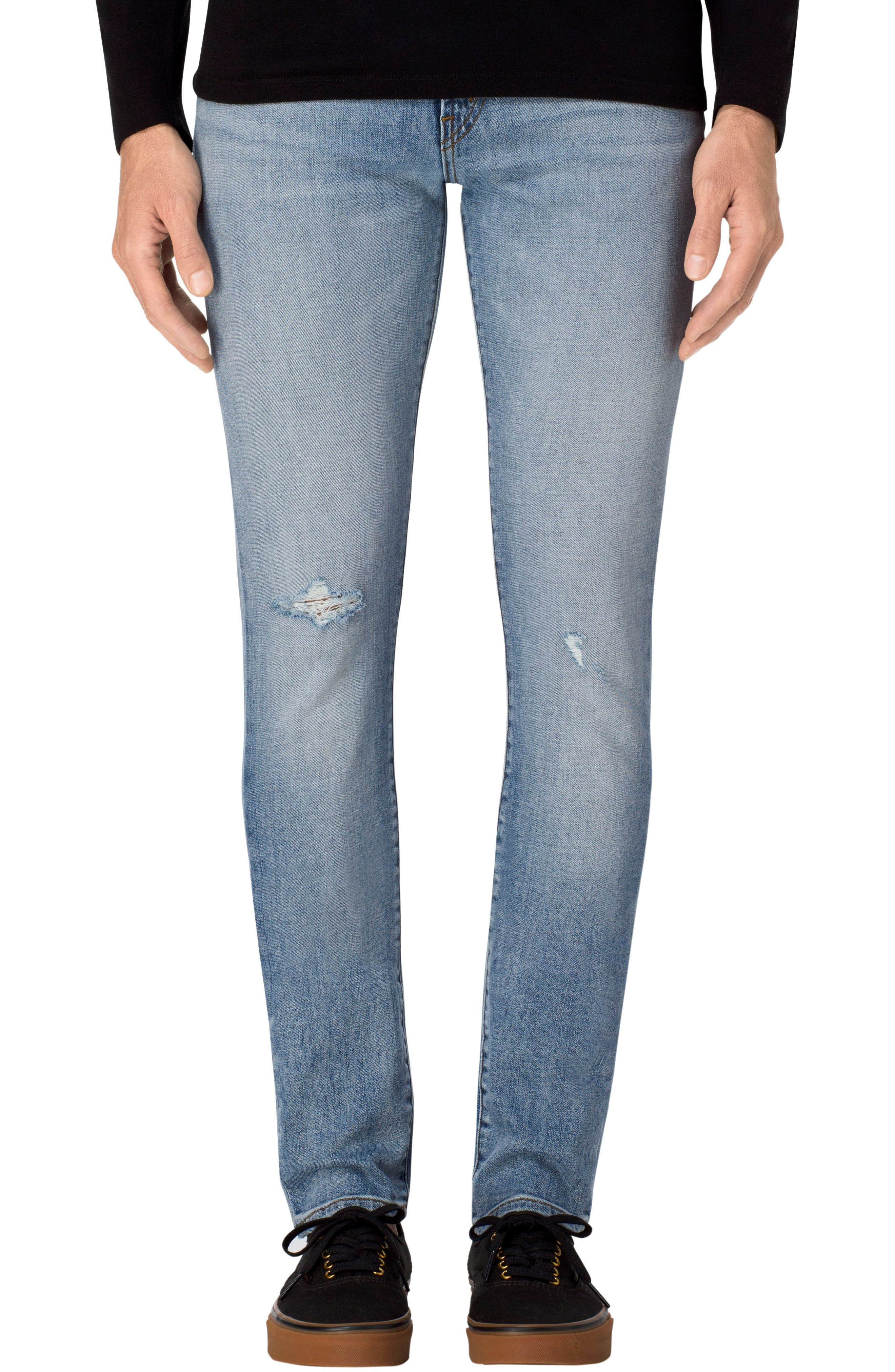 Main Image - J Brand Mick Skinny Fit Jeans (Astroid)