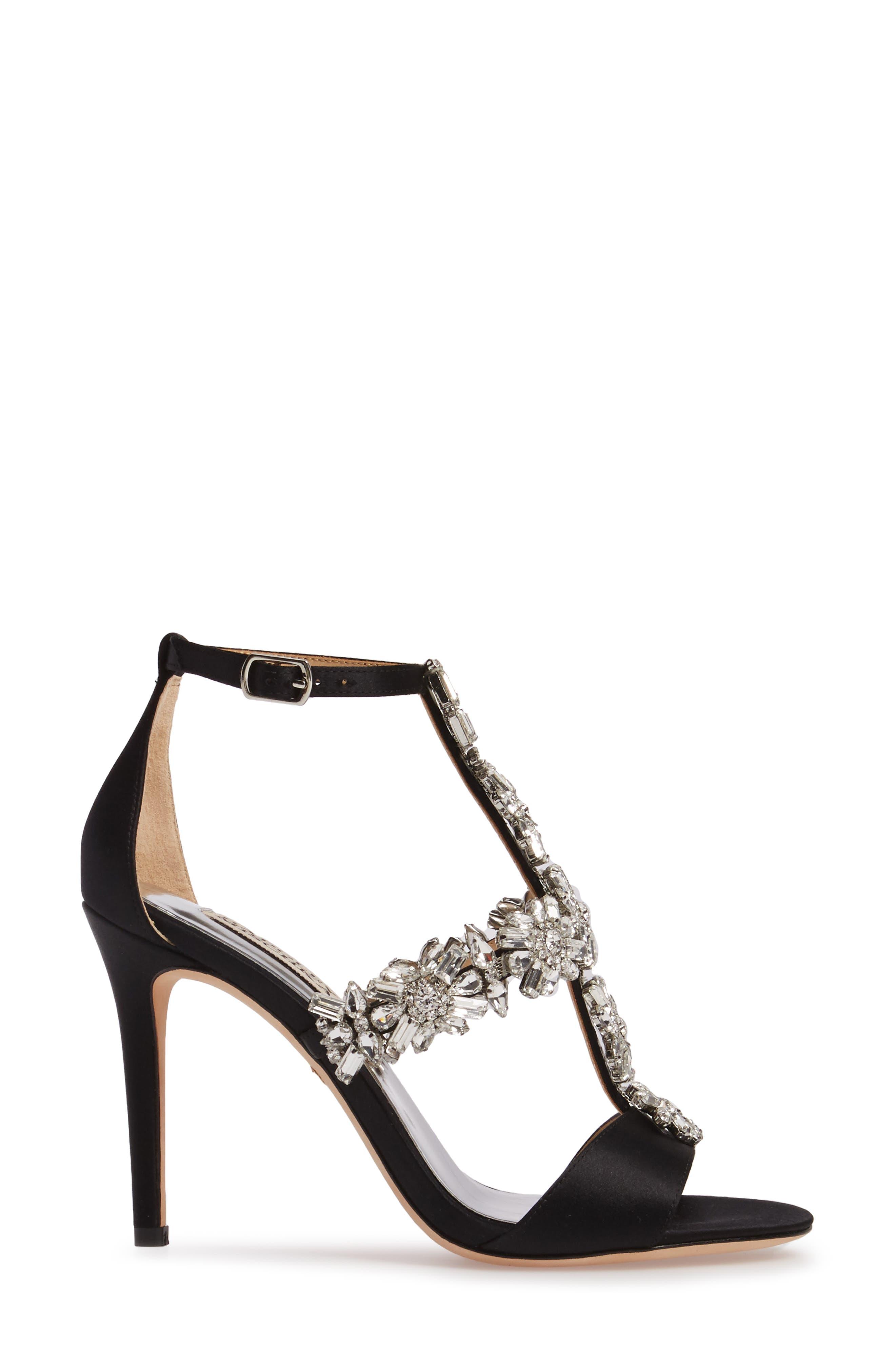 Alternate Image 3  - Badgley Mischka Munroe Embellished Sandal (Women)