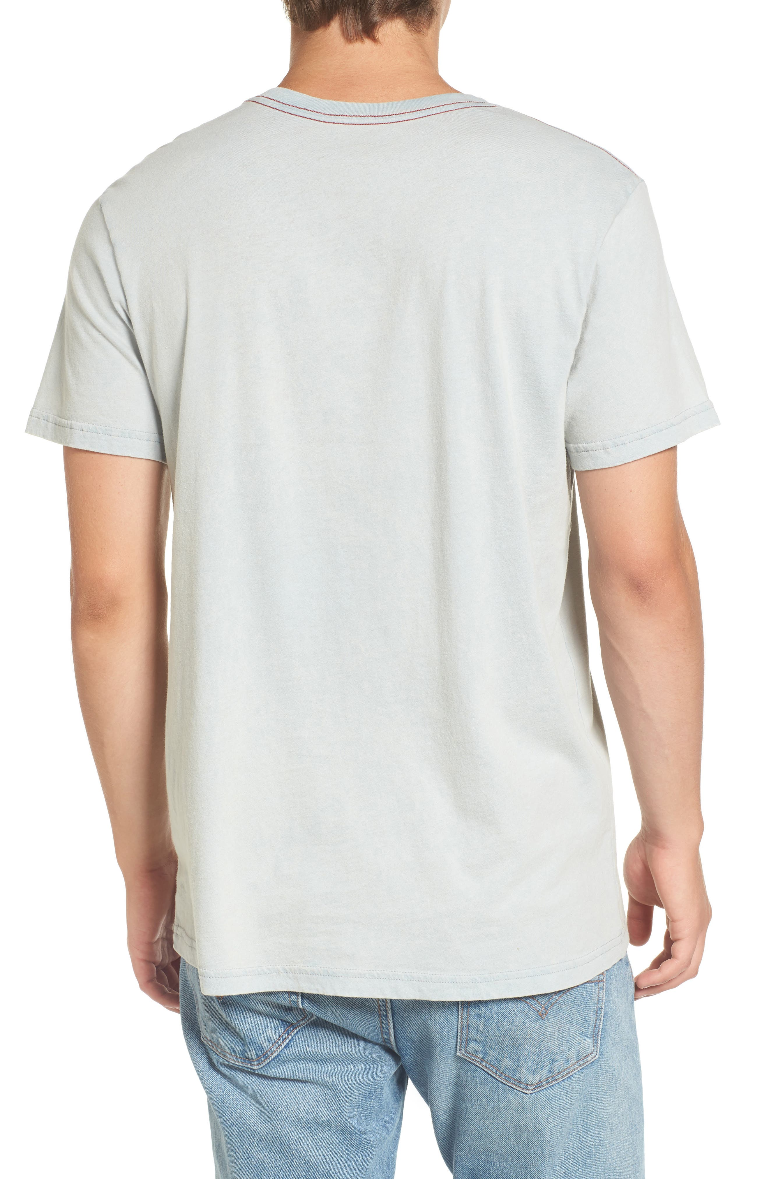 Alternate Image 2  - RVCA Small Logo Graphic T-Shirt