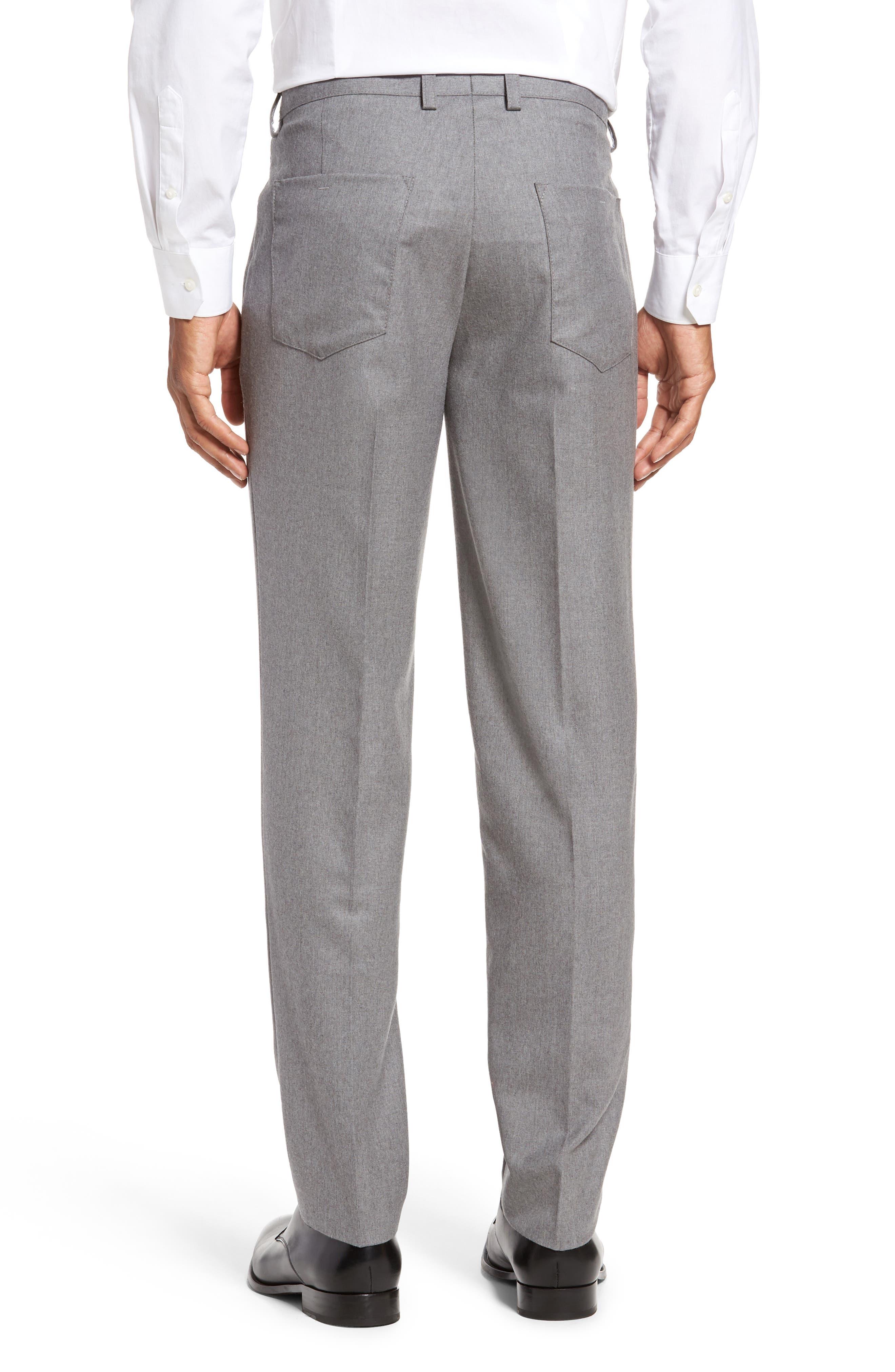 Alternate Image 3  - BOSS Gaetano Regular Fit Wool Trousers