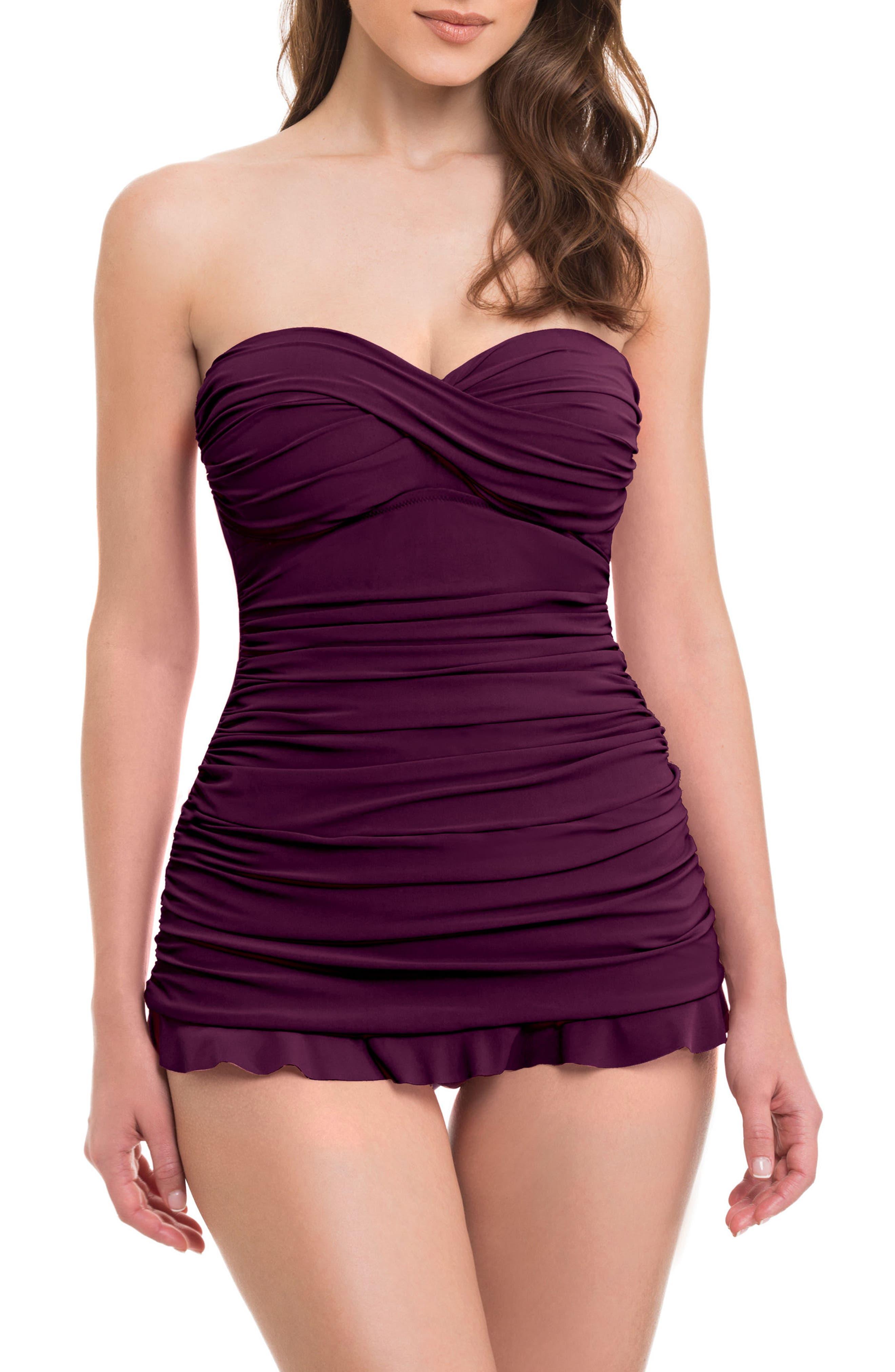 Main Image - Profile by Gottex 'Tutti Frutti' Swim Dress