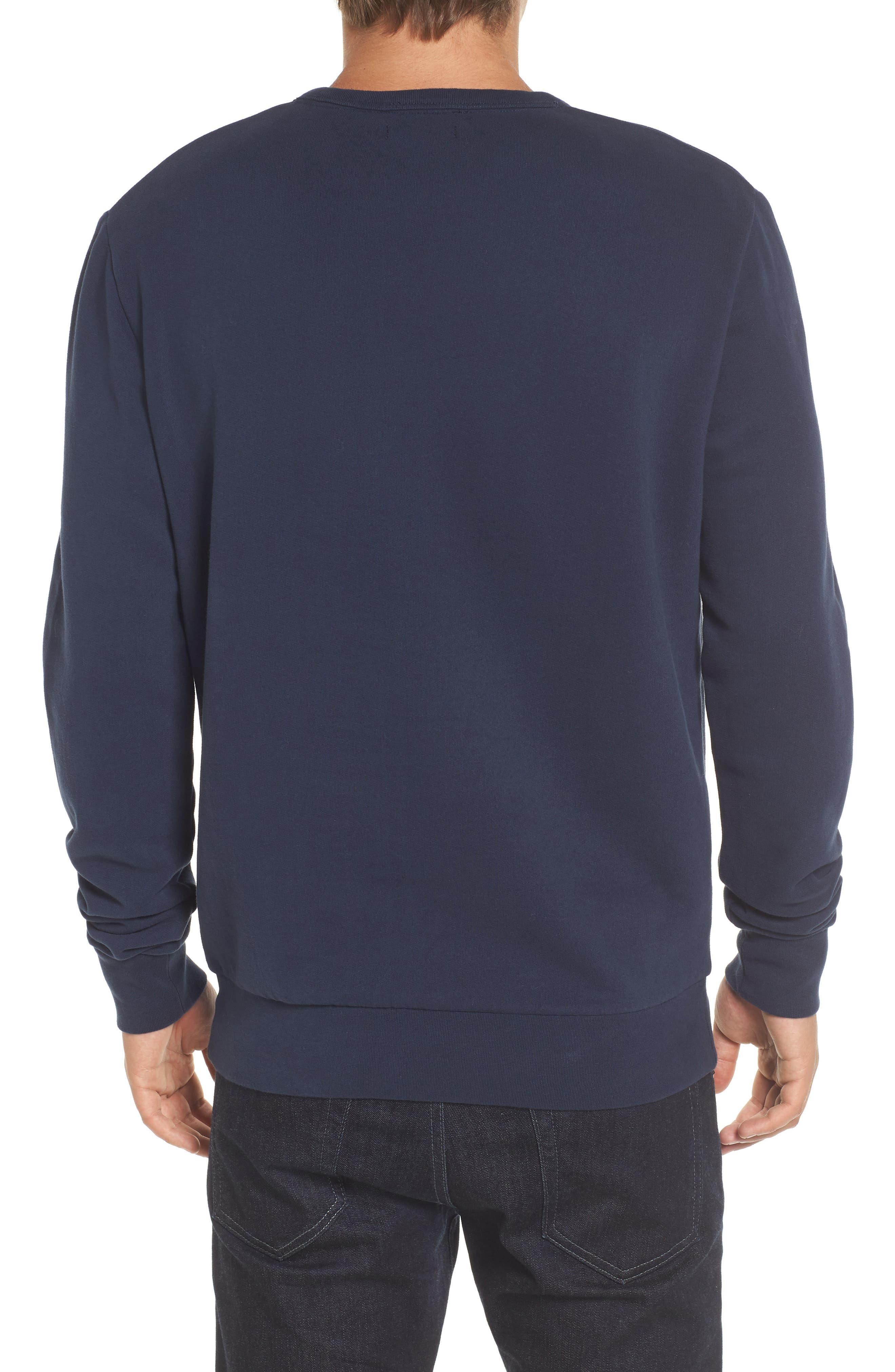 Alternate Image 2  - French Connection Salut Crewneck Sweater