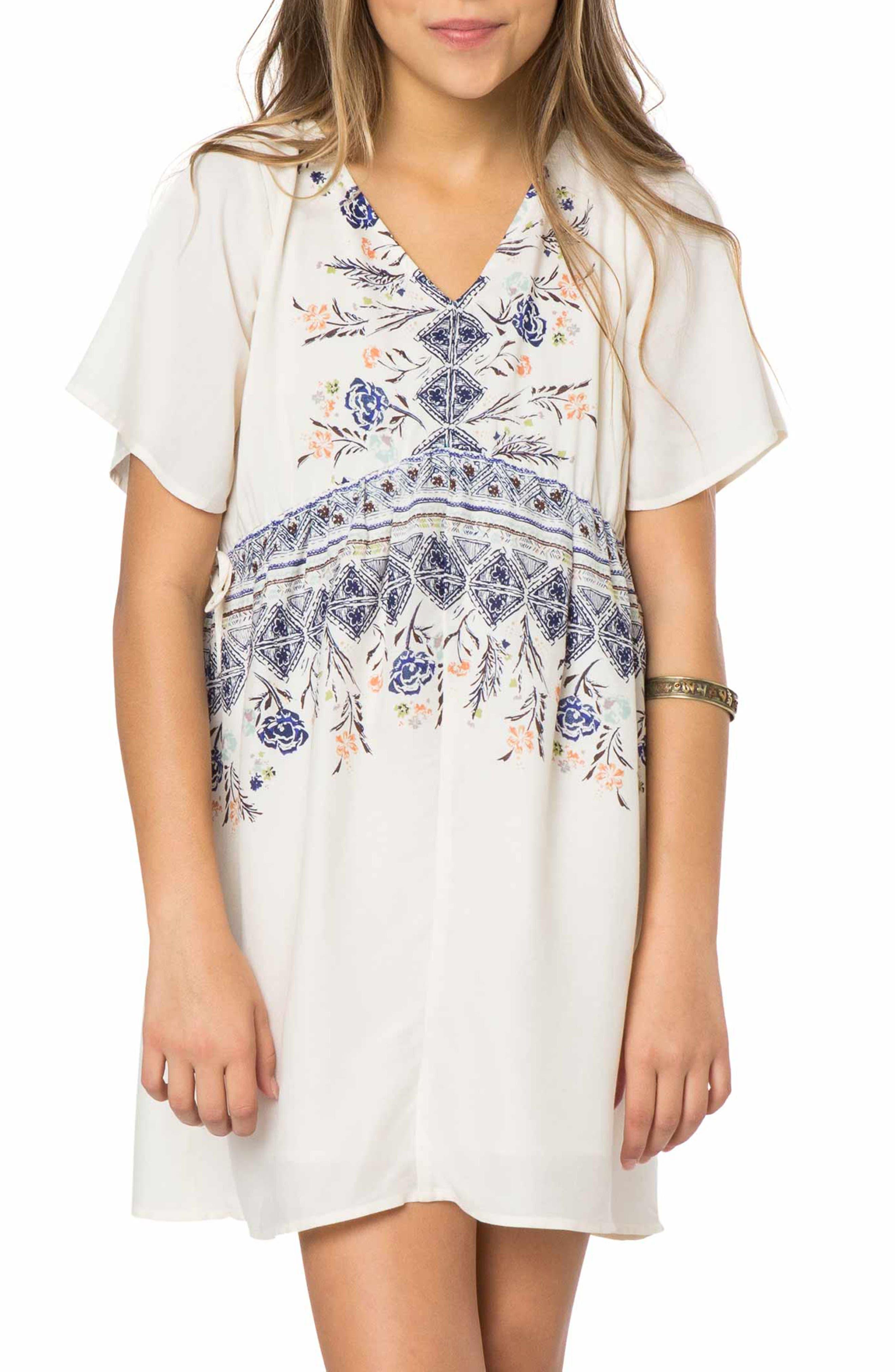 O'Neill Clover Woven Dress (Big Girls)