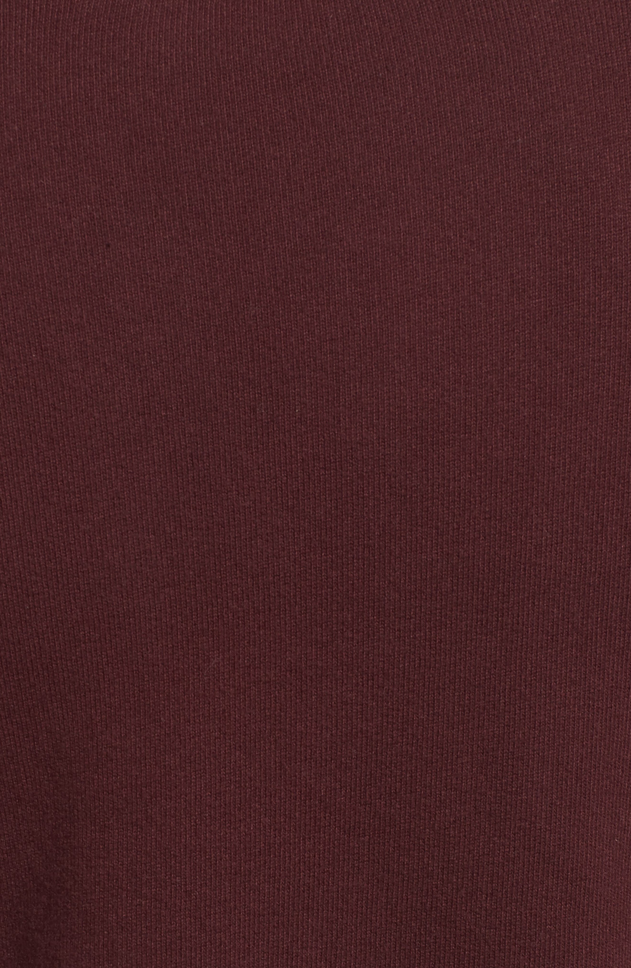 Zip Fleece Jacket,                             Alternate thumbnail 5, color,                             Vamp