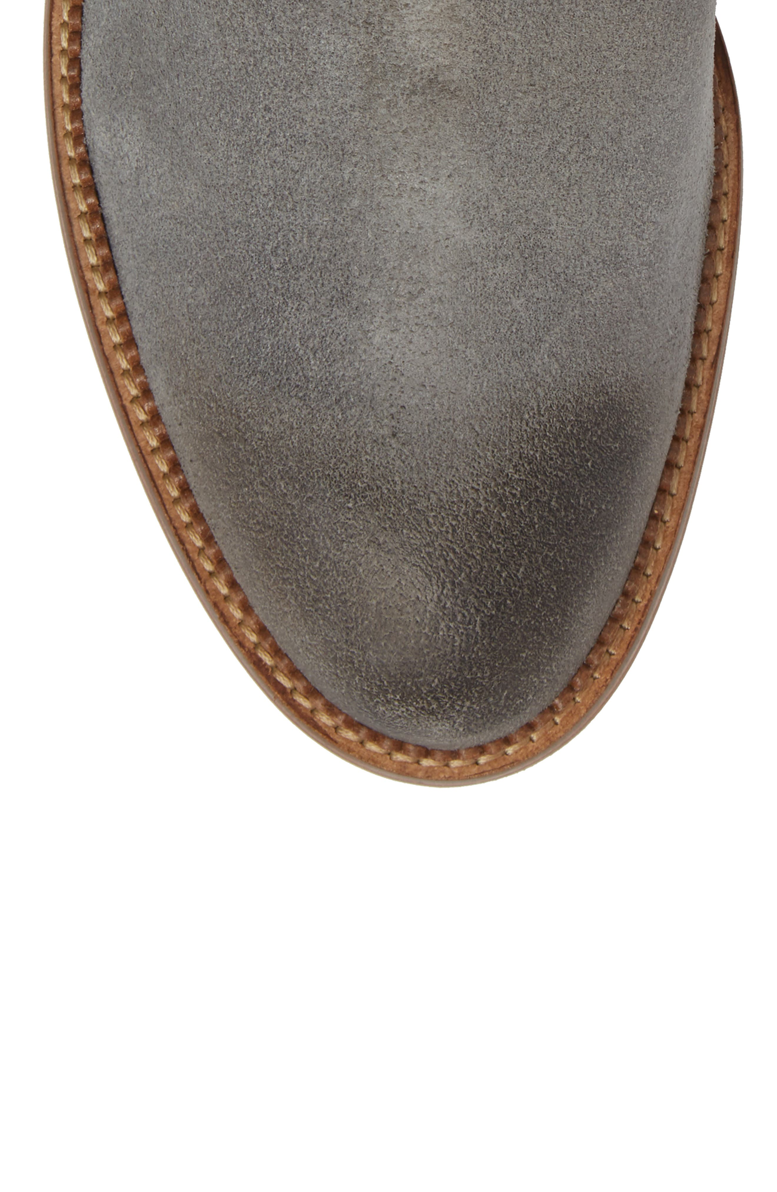 Jamie Chelsea Boot,                             Alternate thumbnail 5, color,                             Magnet Suede