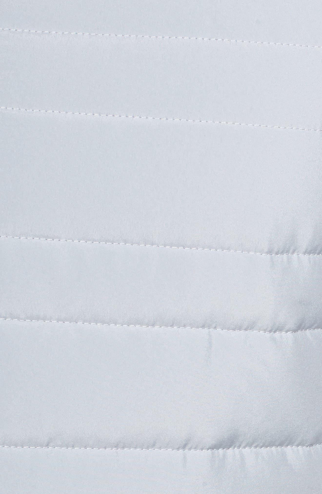 Essentials Running Vest,                             Alternate thumbnail 5, color,                             Wolf Grey/ Metallic Silver