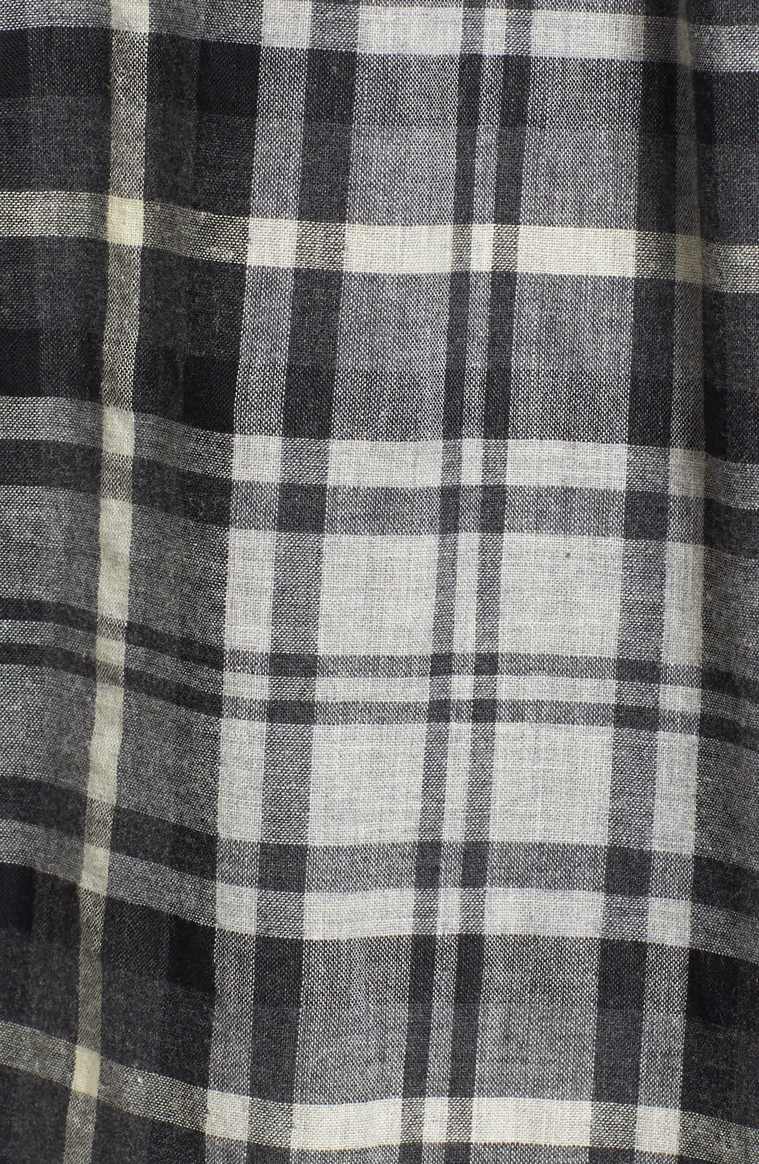 Alternate Image 5  - Grayers Heath Modern Fit Plaid Double Cloth Sport Shirt