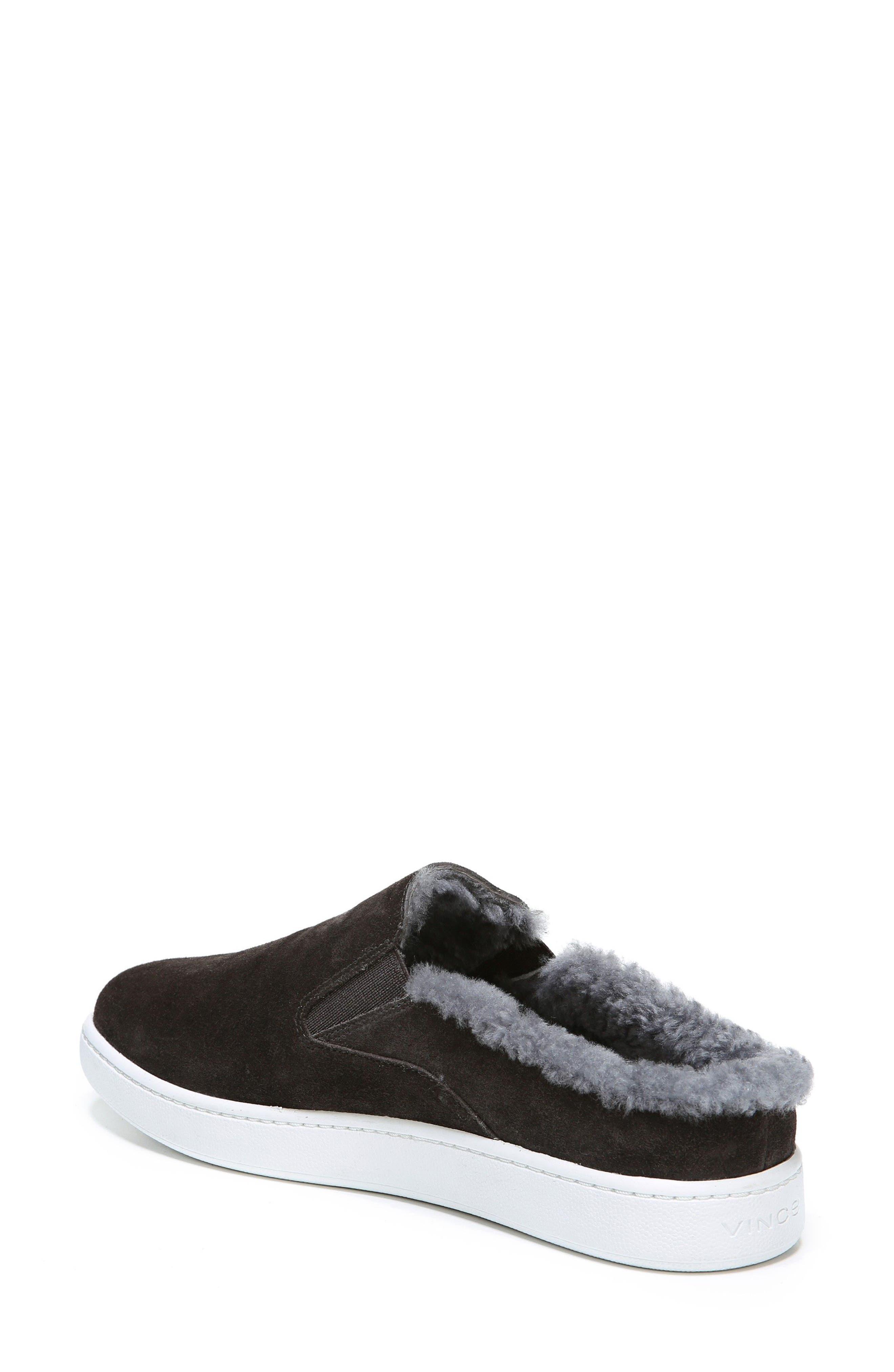 Alternate Image 2  - Vince Verrell Genuine Shearling Slip-On Sneaker (Women)