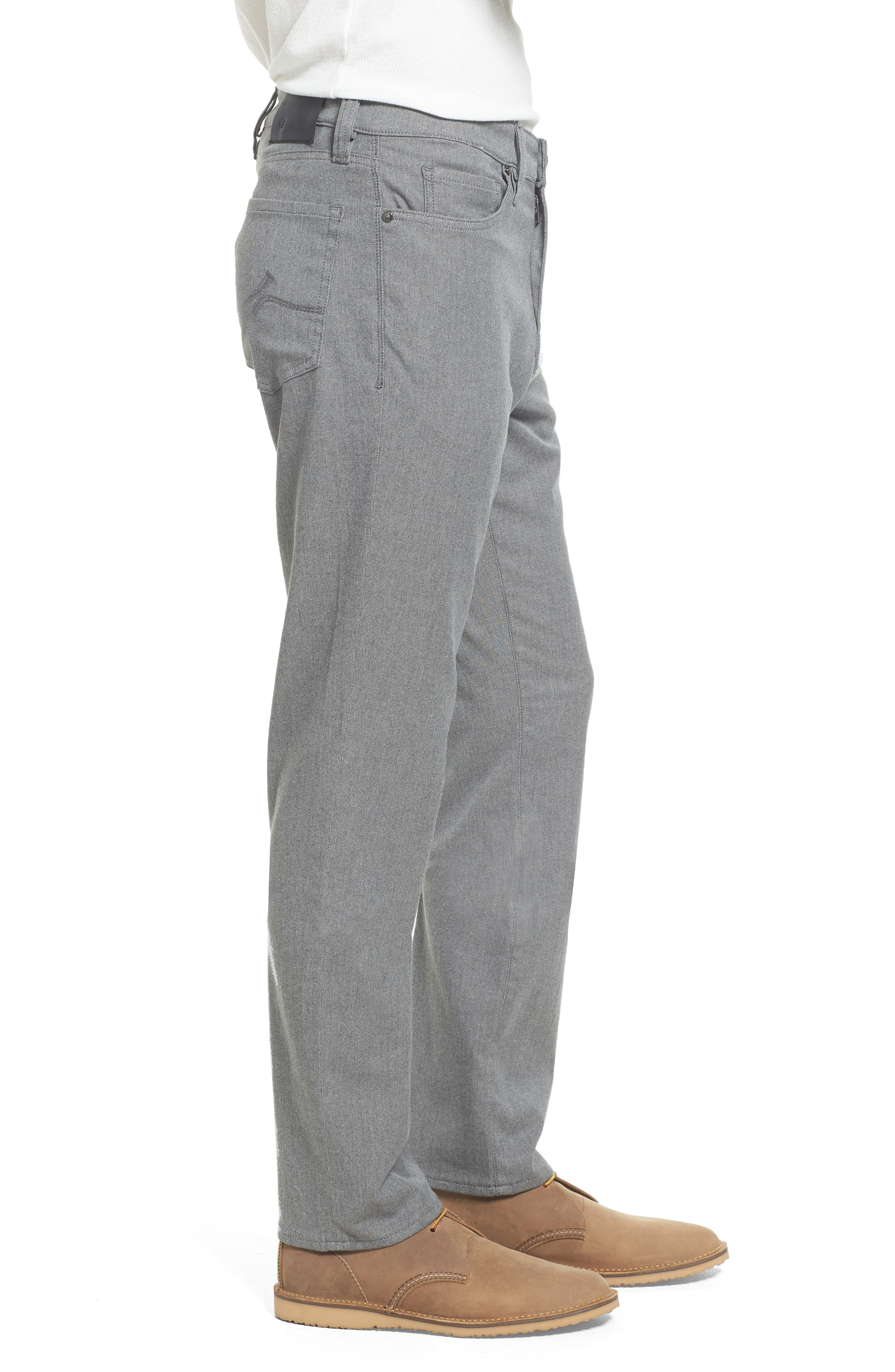 Charisma Relaxed Fit Jeans,                             Alternate thumbnail 3, color,                             Grey Winter Twill