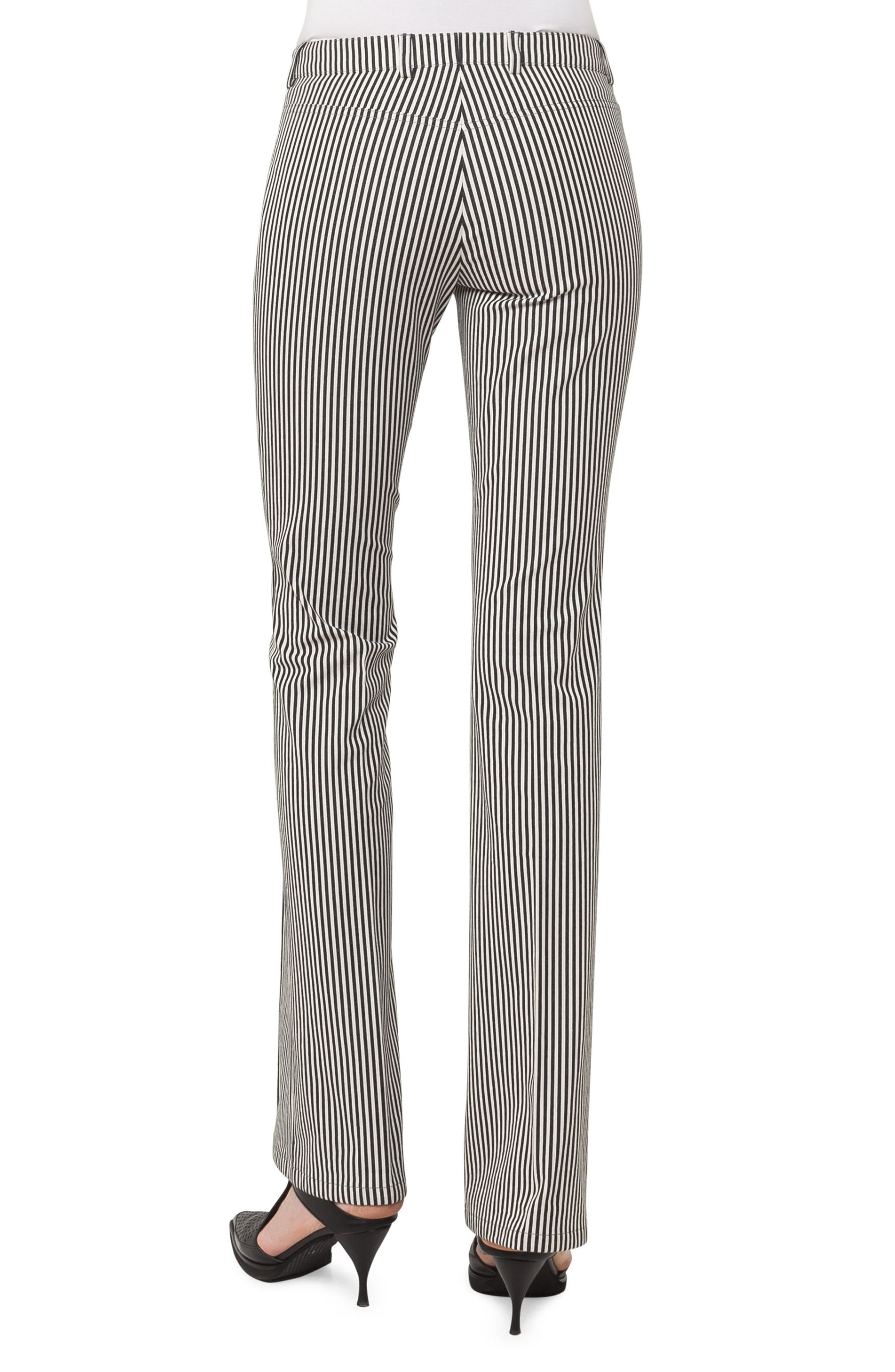 Alternate Image 2  - Akris punto Faye Stripe Bootcut Pants