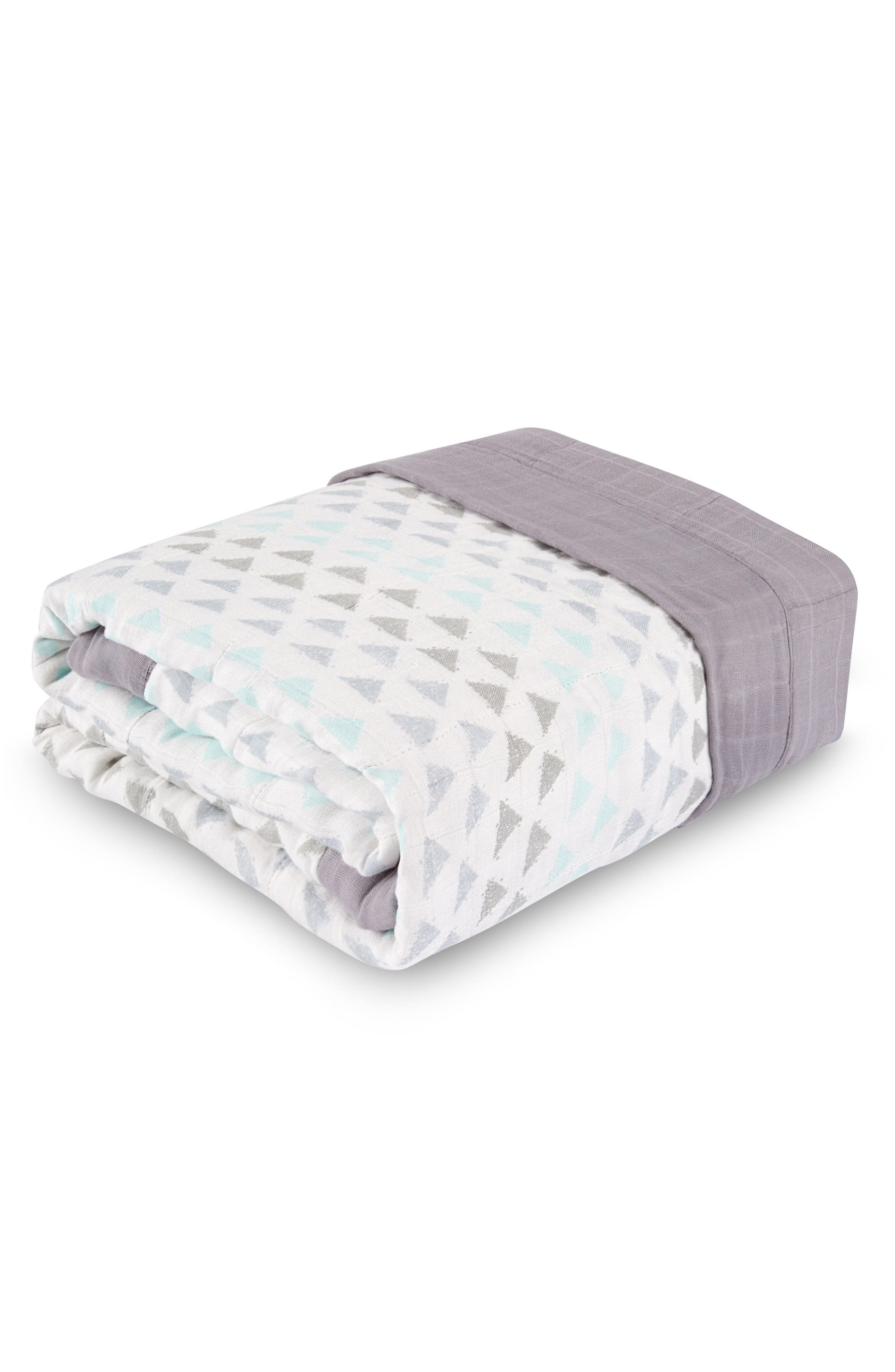 Alternate Image 1 Selected - aden + anais Oversize Muslin Blanket