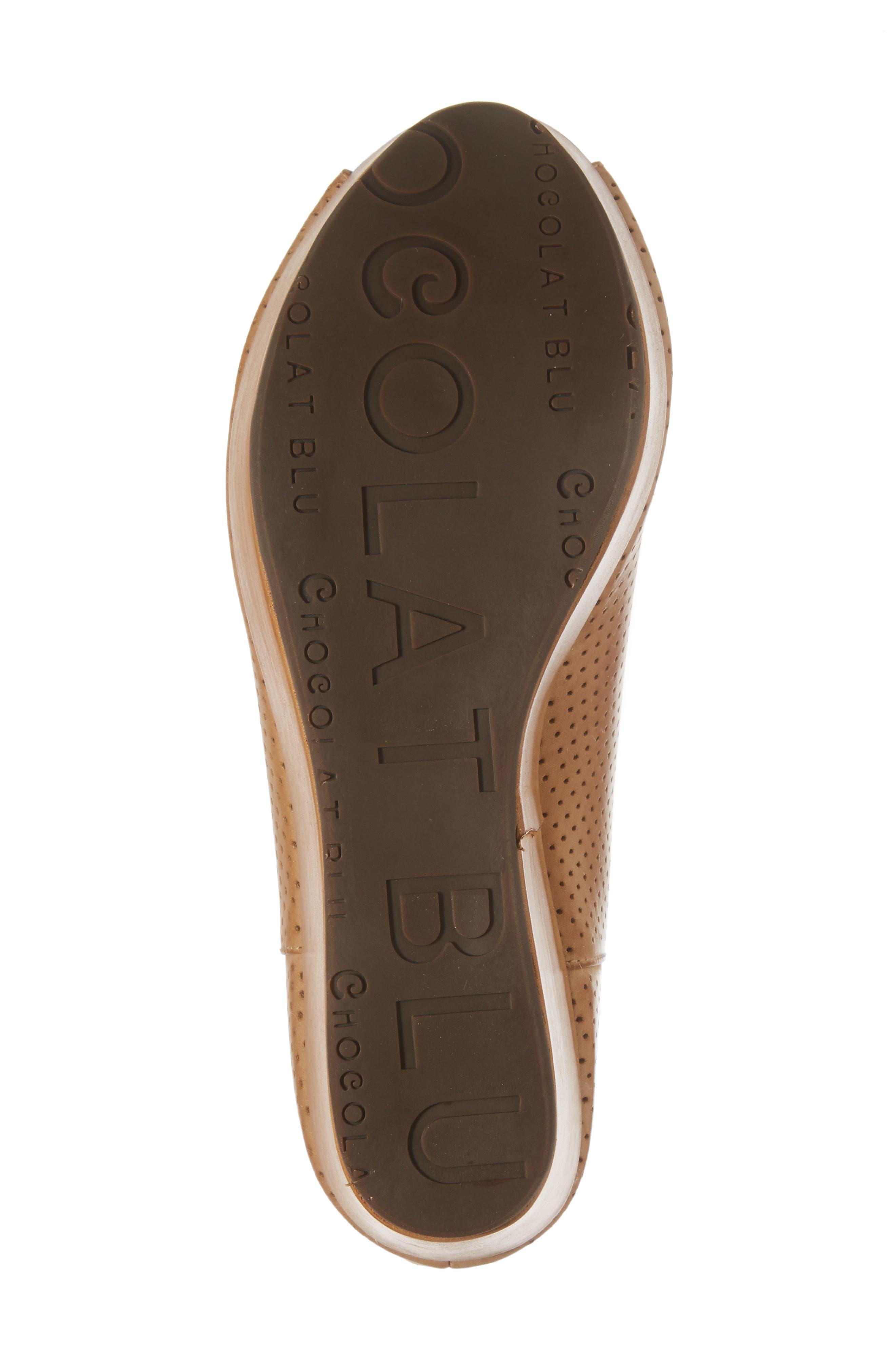 Alternate Image 6  - Chocolat Blu Walee Peep Toe Platform Bootie (Women)