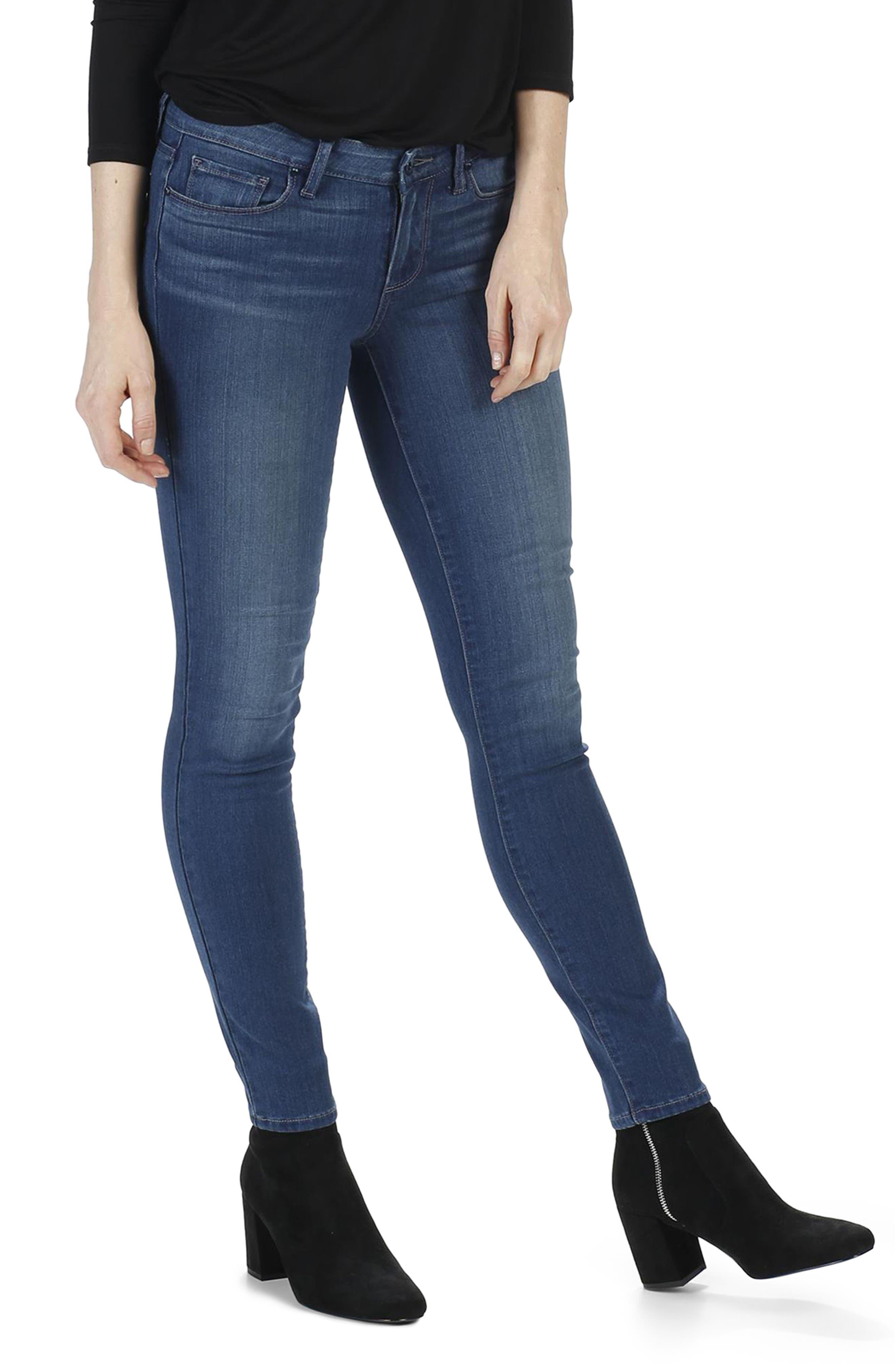 Alternate Image 1 Selected - PAIGE Transcend - Verdugo Ultra Skinny Jeans (Vida)