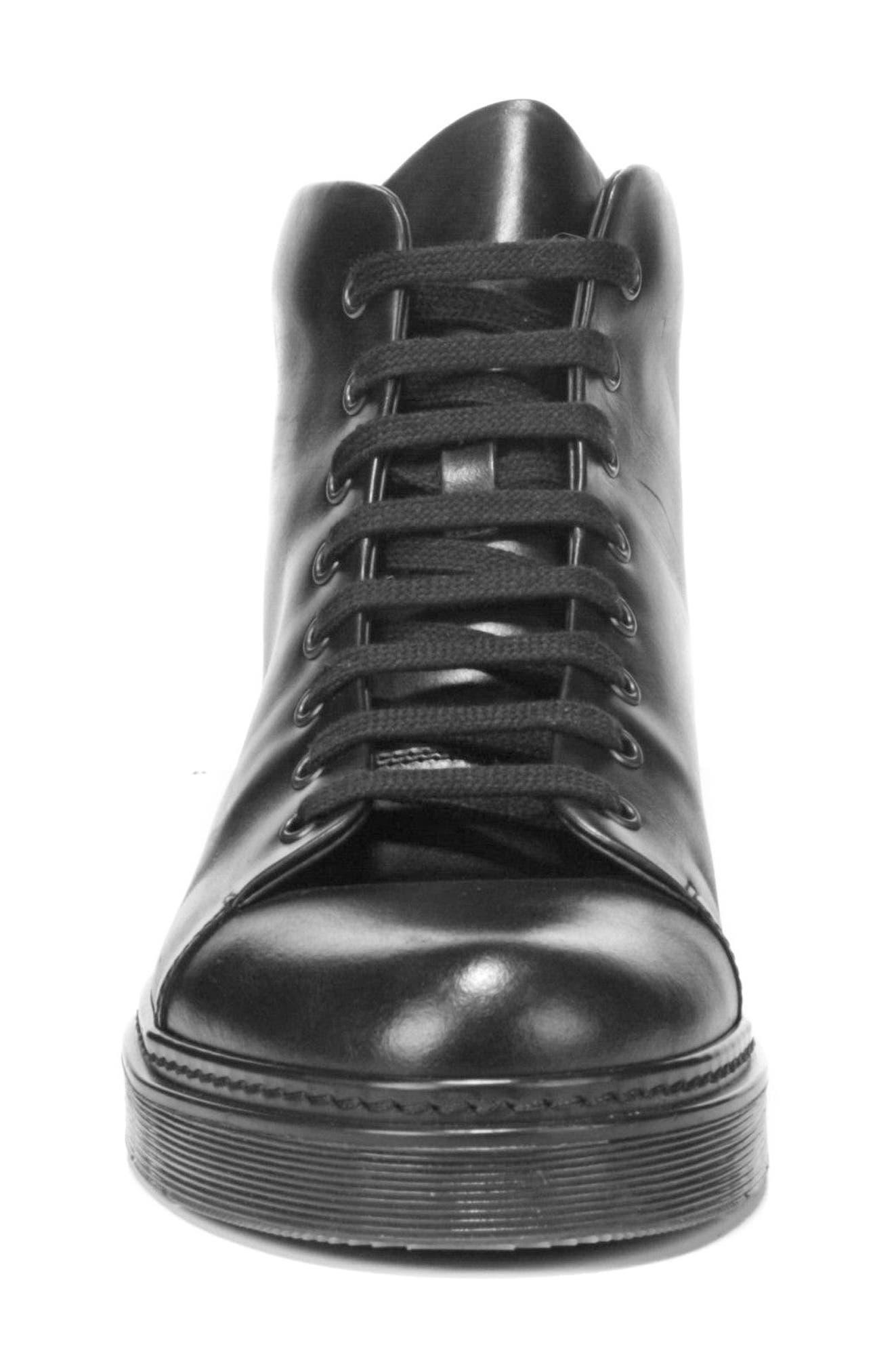 Malone Plain Toe Boot,                             Alternate thumbnail 4, color,                             Black
