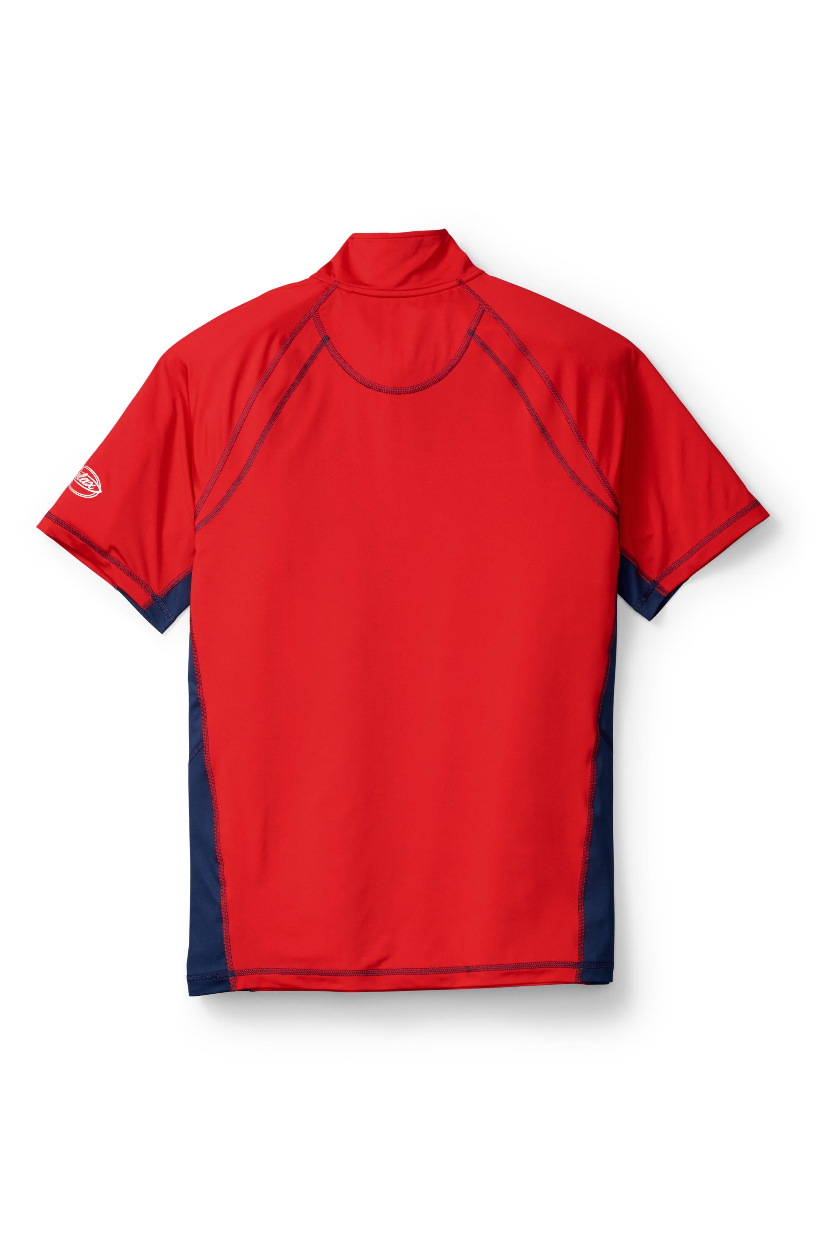 Tour de Surf Tech Shirt,                         Main,                         color, Cherry Tomato